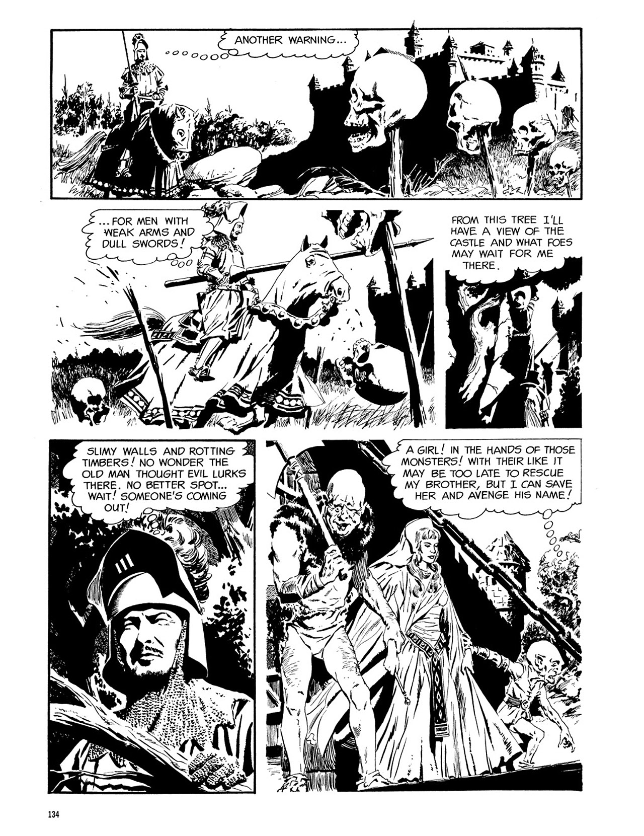 Read online Eerie Archives comic -  Issue # TPB 3 - 135