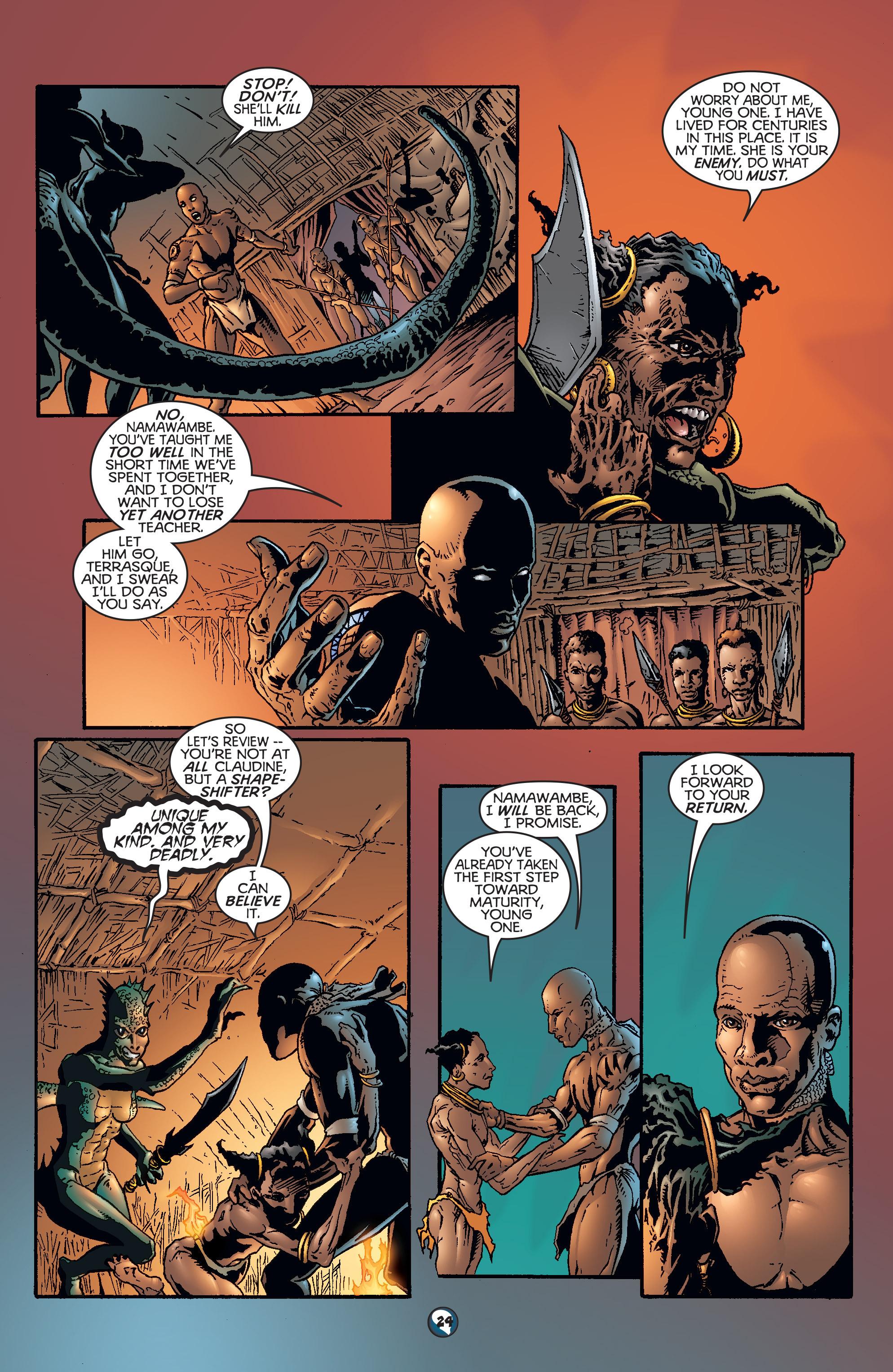 Read online Shadowman (1997) comic -  Issue #18 - 20