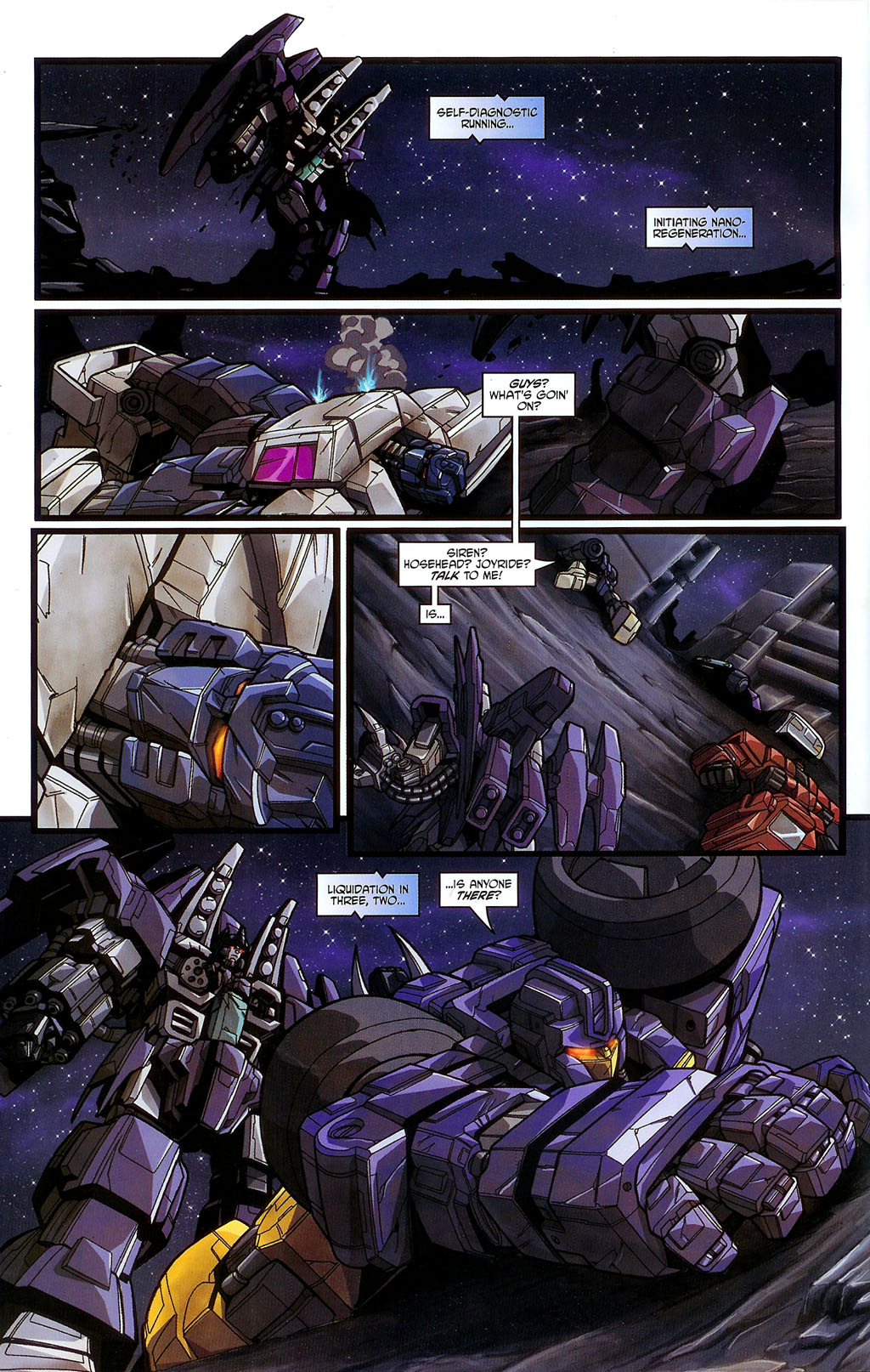 """Read online Transformers War Within: """"The Age of Wrath"""" comic -  Issue #3 - 18"""