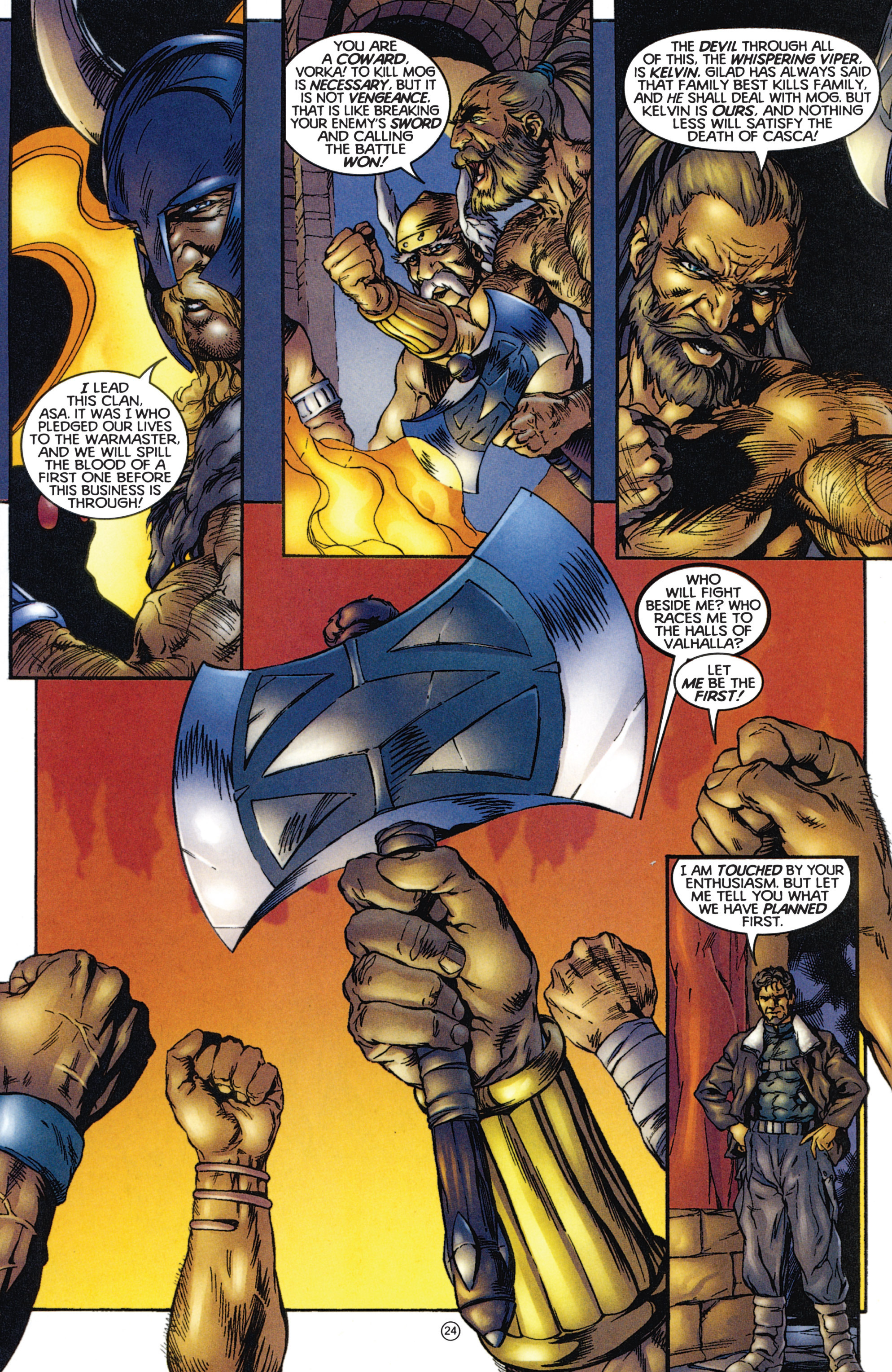 Read online Eternal Warriors comic -  Issue # Issue The Immortal Enemy - 22
