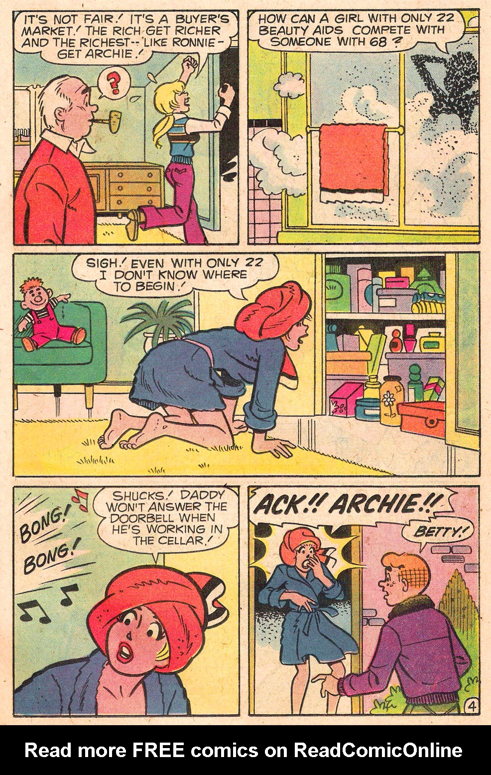 Read online Archie's Girls Betty and Veronica comic -  Issue #280 - 23