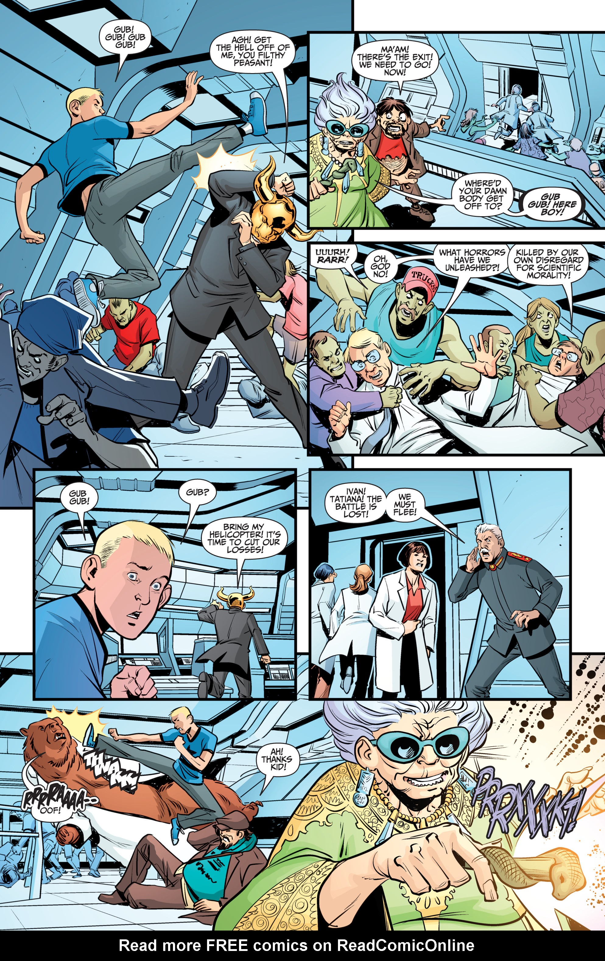 Read online A&A: The Adventures of Archer & Armstrong comic -  Issue #12 - 16