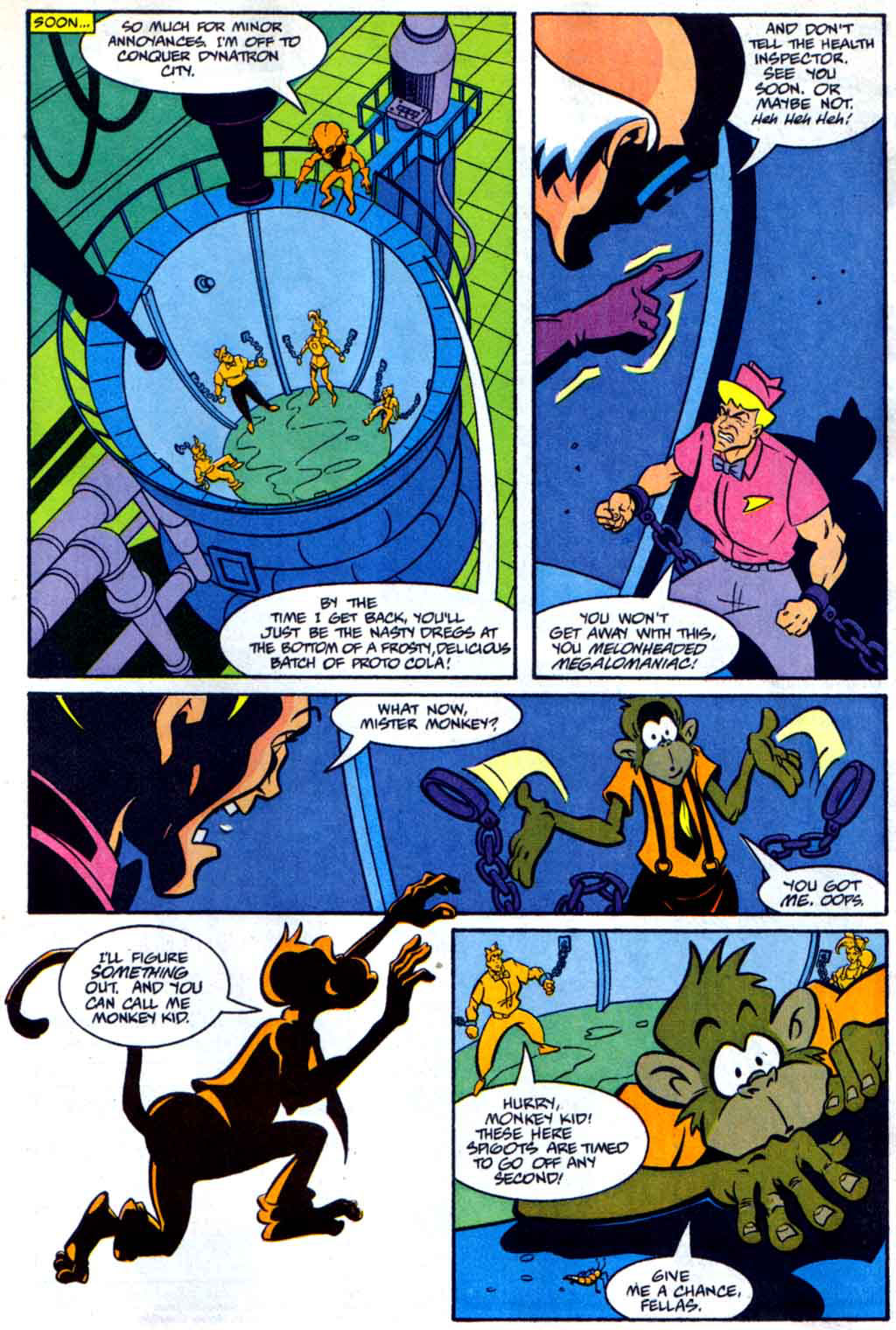 Read online Defenders of Dynatron City comic -  Issue #2 - 9