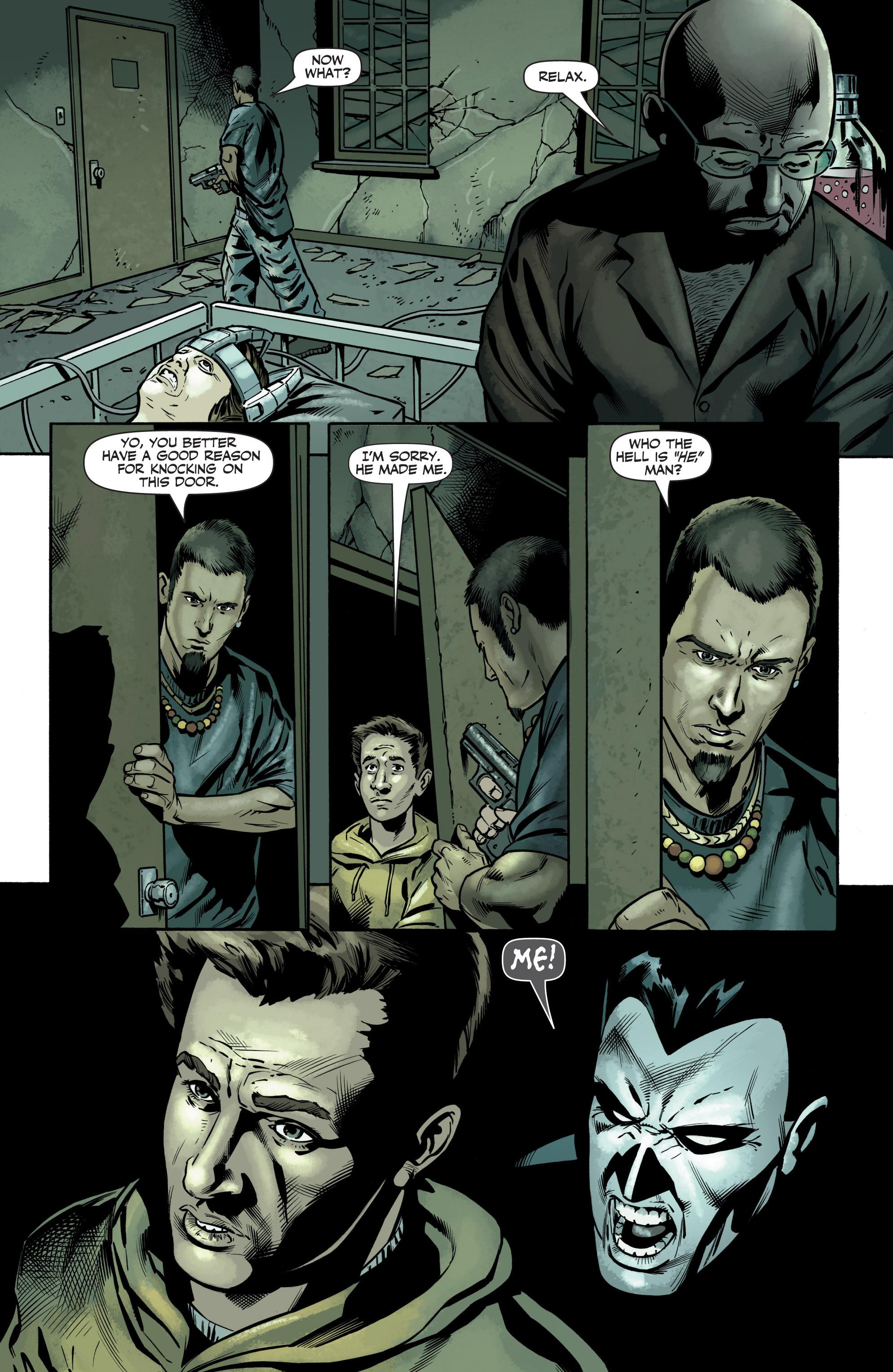 Read online Shadowman (2012) comic -  Issue #6 - 9