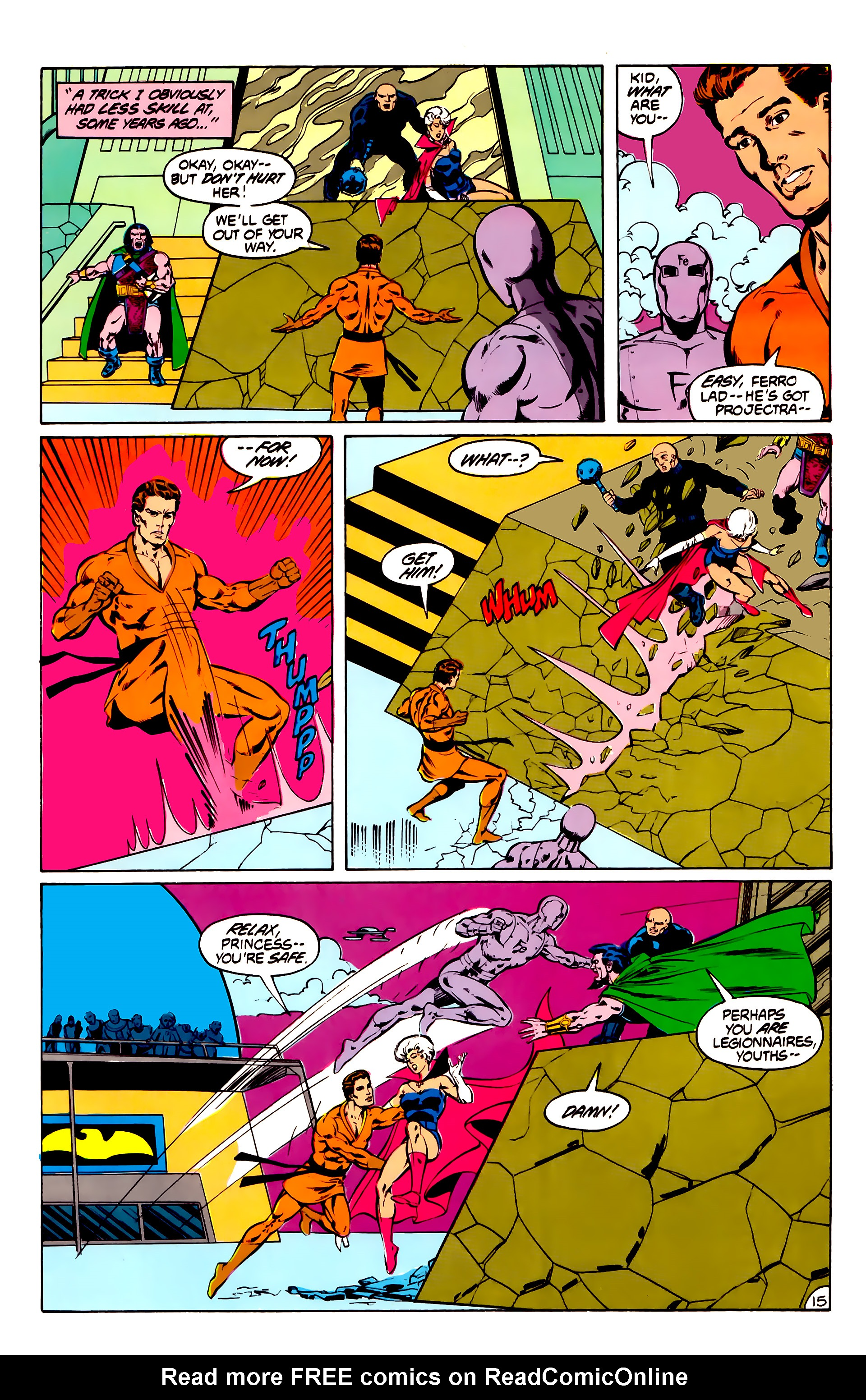 Legion of Super-Heroes (1984) 31 Page 15