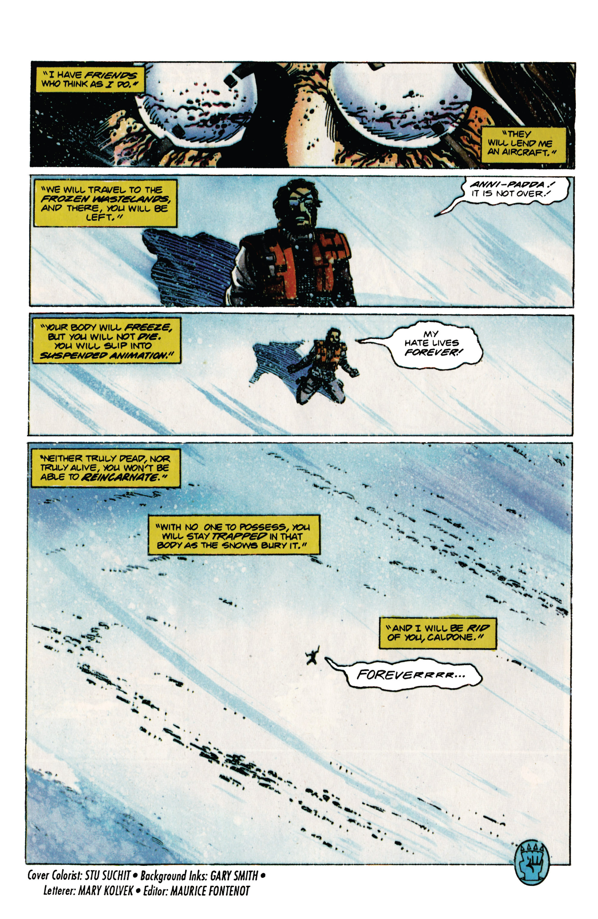 Read online Eternal Warrior (1992) comic -  Issue #31 - 22