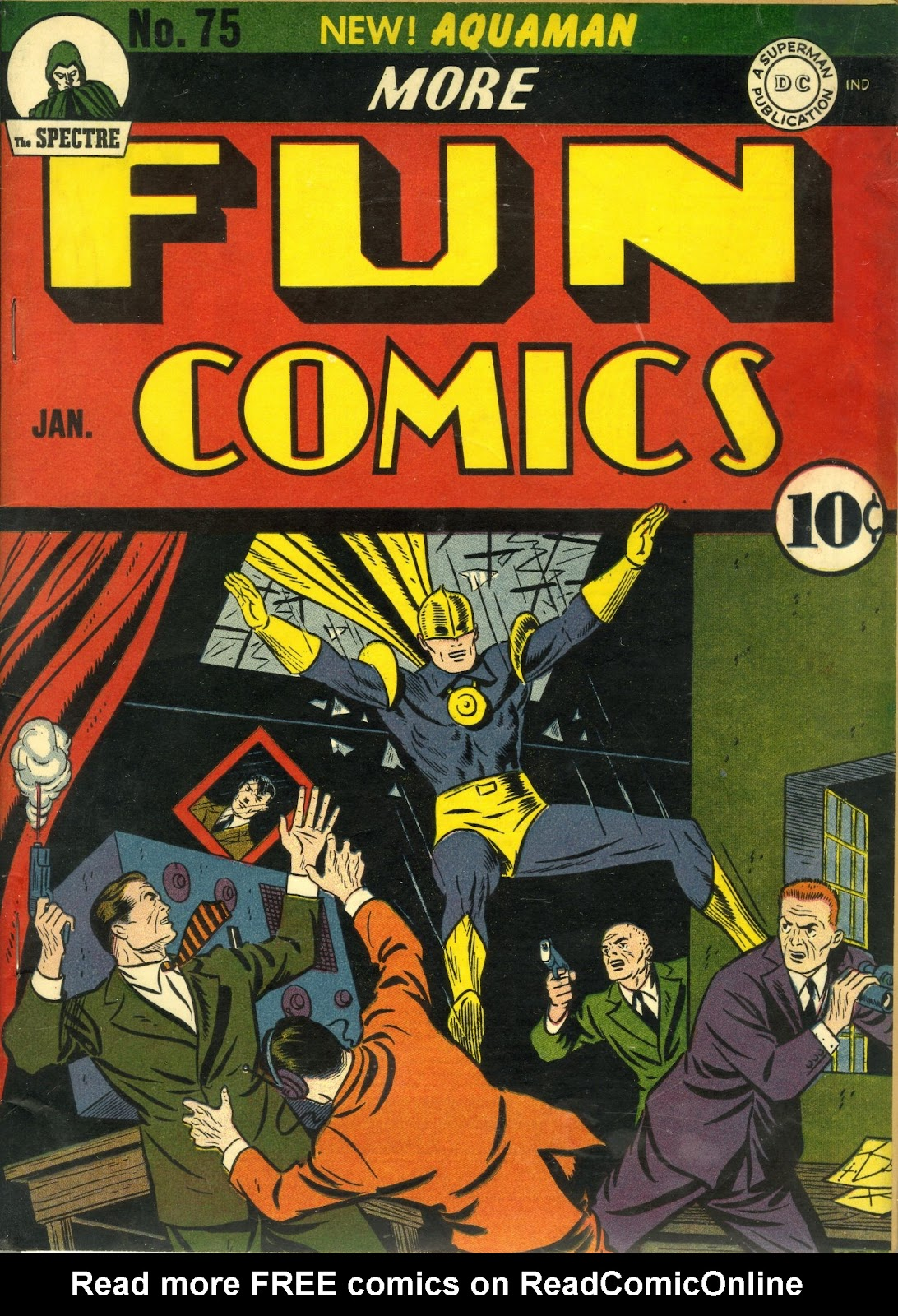 More Fun Comics 75 Page 2