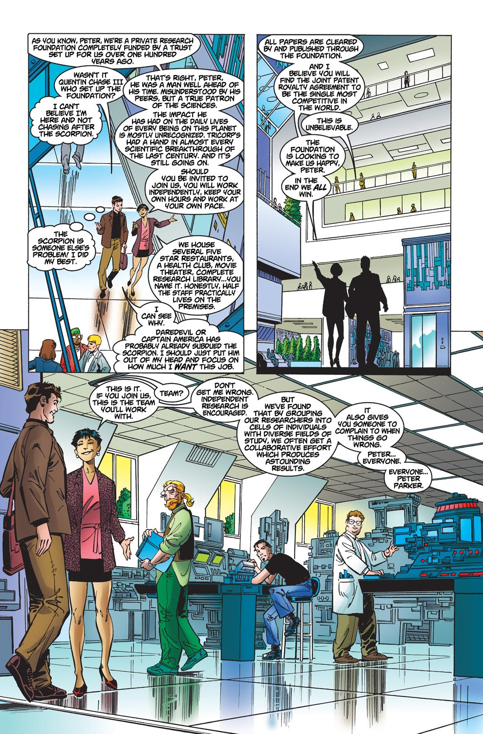 The Amazing Spider-Man (1999) 1 Page 21