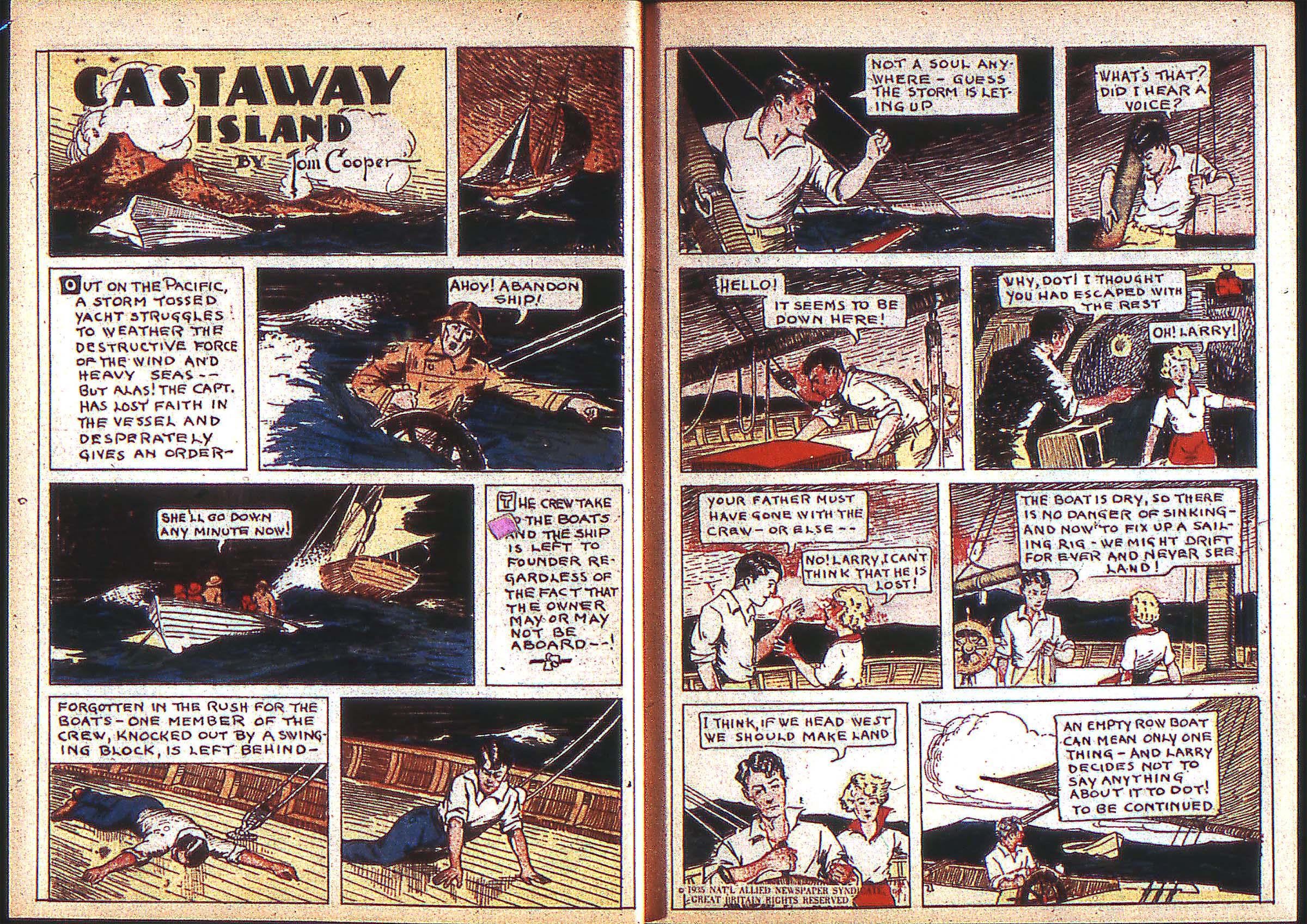 Read online Adventure Comics (1938) comic -  Issue #2 - 7