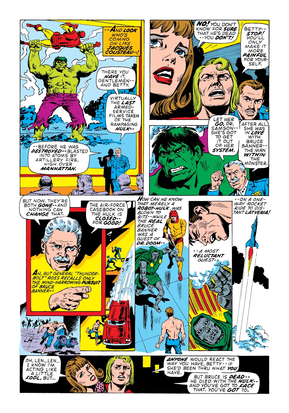 Read online Marvel Masterworks: The Incredible Hulk comic -  Issue # TPB 7 (Part 3) - 9