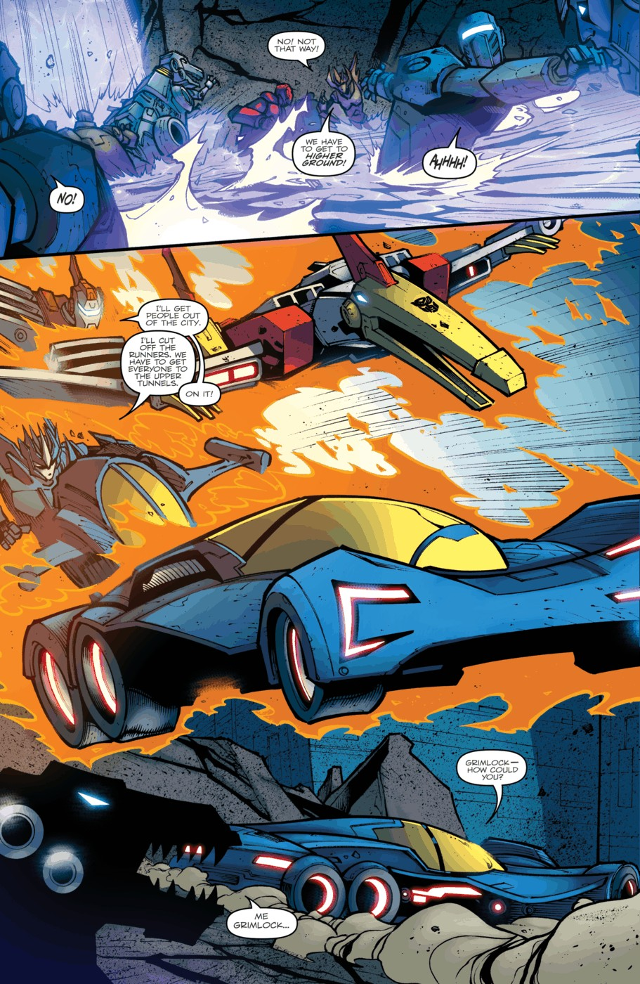 Read online Transformers Prime: Beast Hunters comic -  Issue #5 - 21