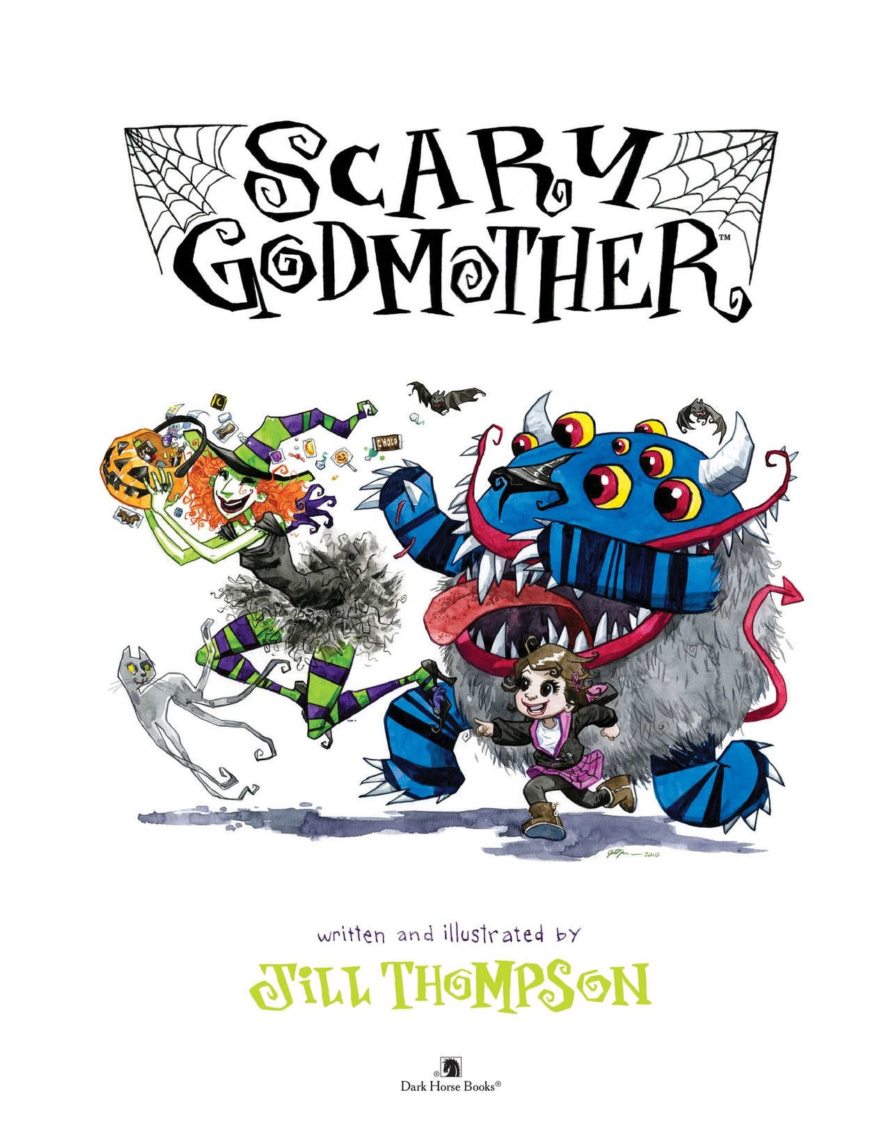 Read online Scary Godmother comic -  Issue # TPB - 3
