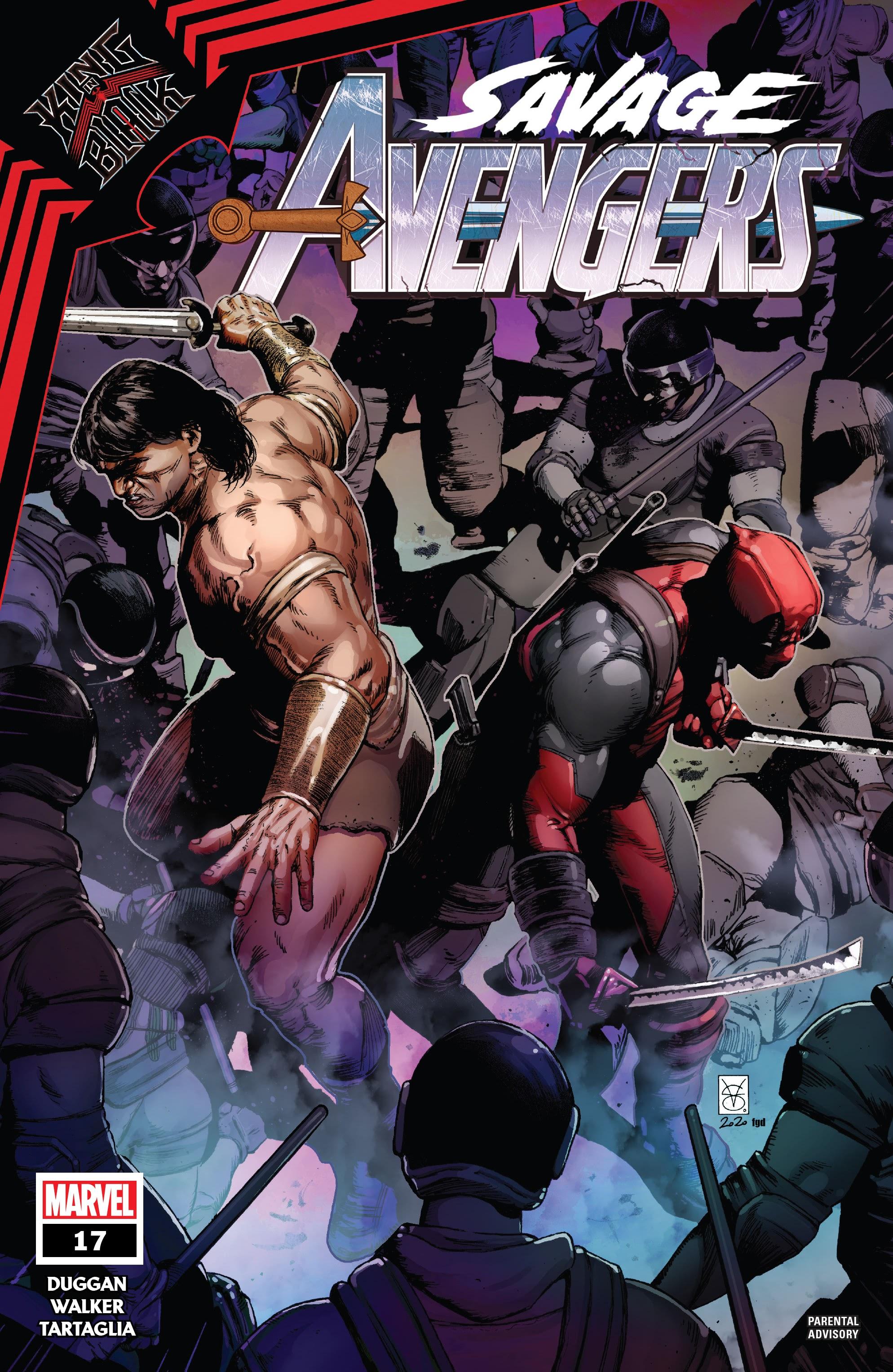 Savage Avengers 17 Page 1