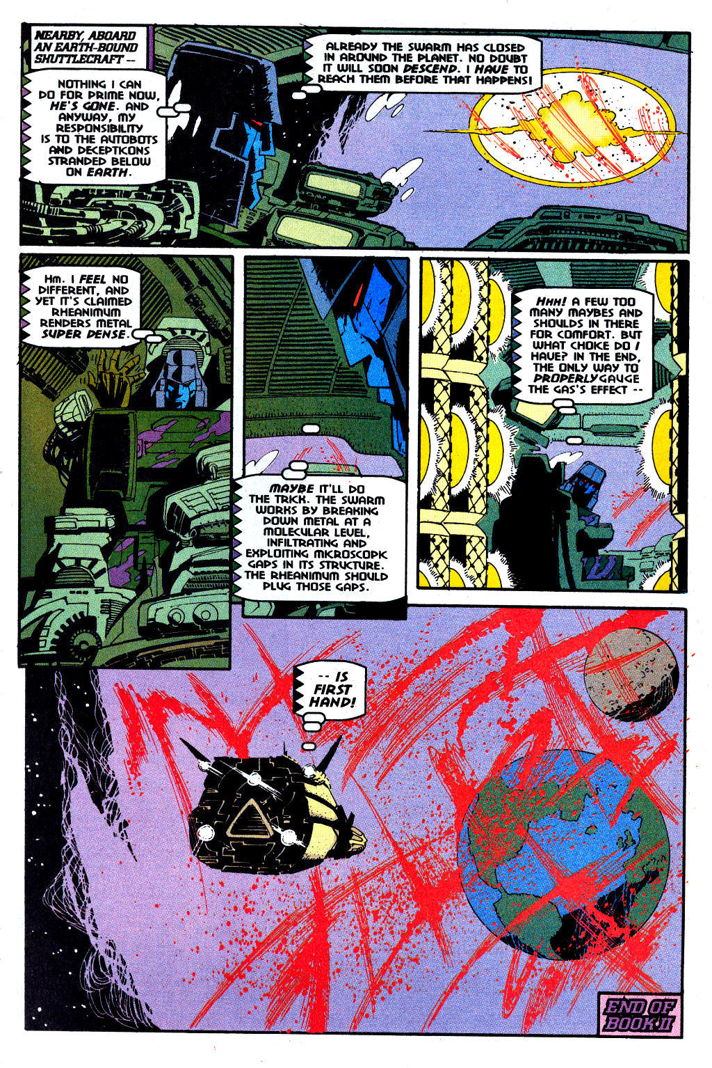 Read online Transformers: Generation 2 comic -  Issue #12 - 20