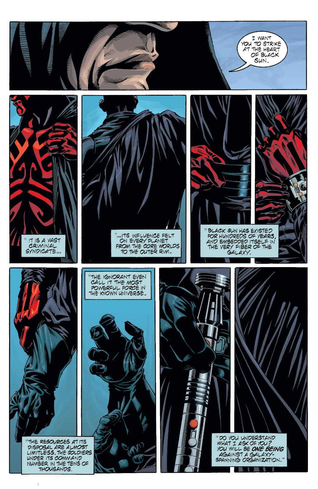 Read online Star Wars Legends: Rise of the Sith - Epic Collection comic -  Issue # TPB 2 (Part 2) - 52