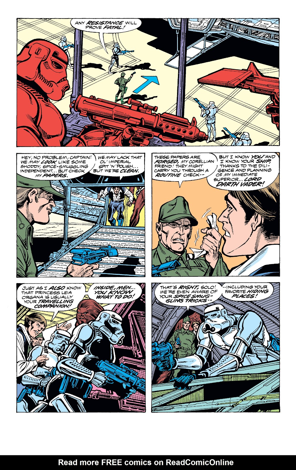Read online Star Wars Legends: The Original Marvel Years - Epic Collection comic -  Issue # TPB 2 (Part 3) - 60