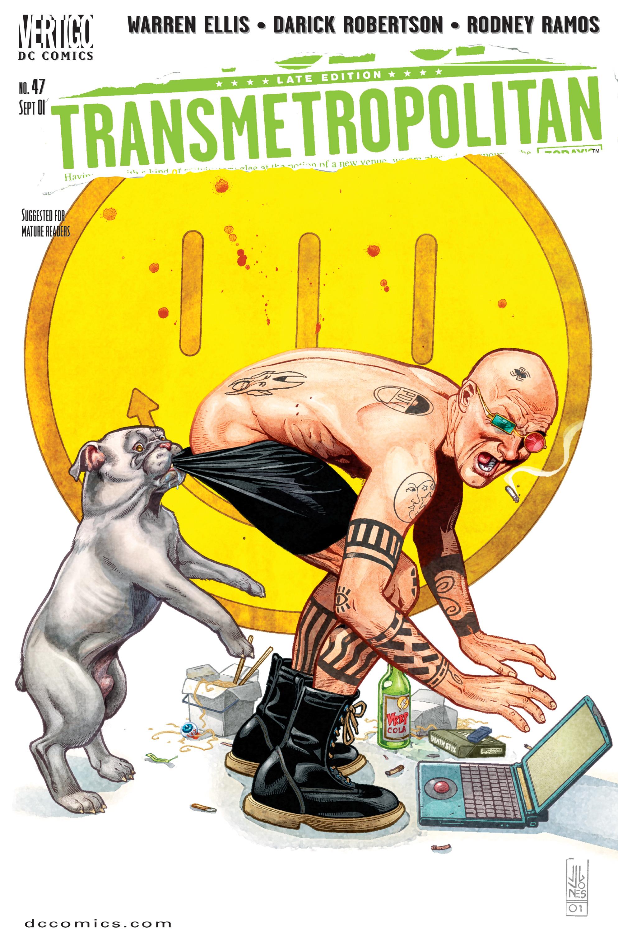 Read online Transmetropolitan comic -  Issue #47 - 1