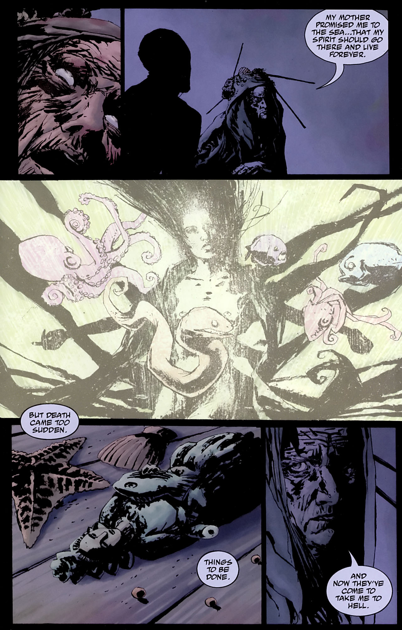 Read online Abe Sapien: The Drowning comic -  Issue #3 - 25