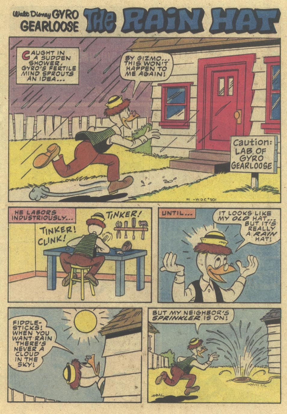 Walt Disney's Comics and Stories issue 501 - Page 17