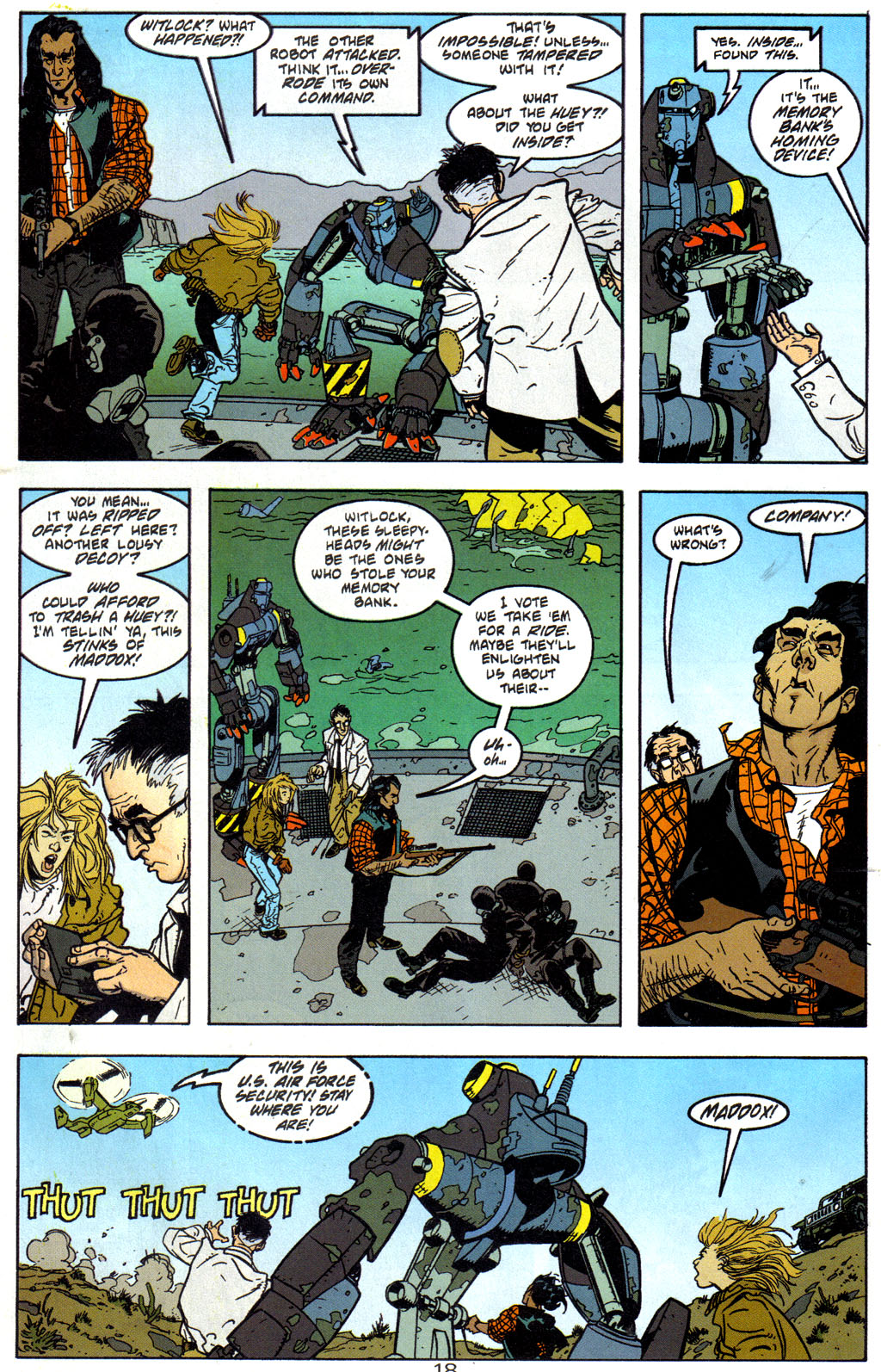 Read online Trouble Magnet comic -  Issue #2 - 19