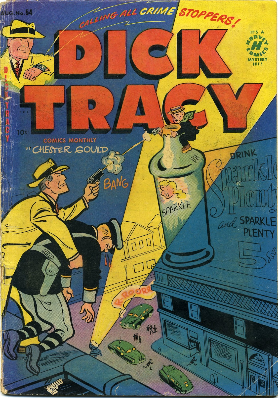 Dick Tracy (1950) 54 Page 1