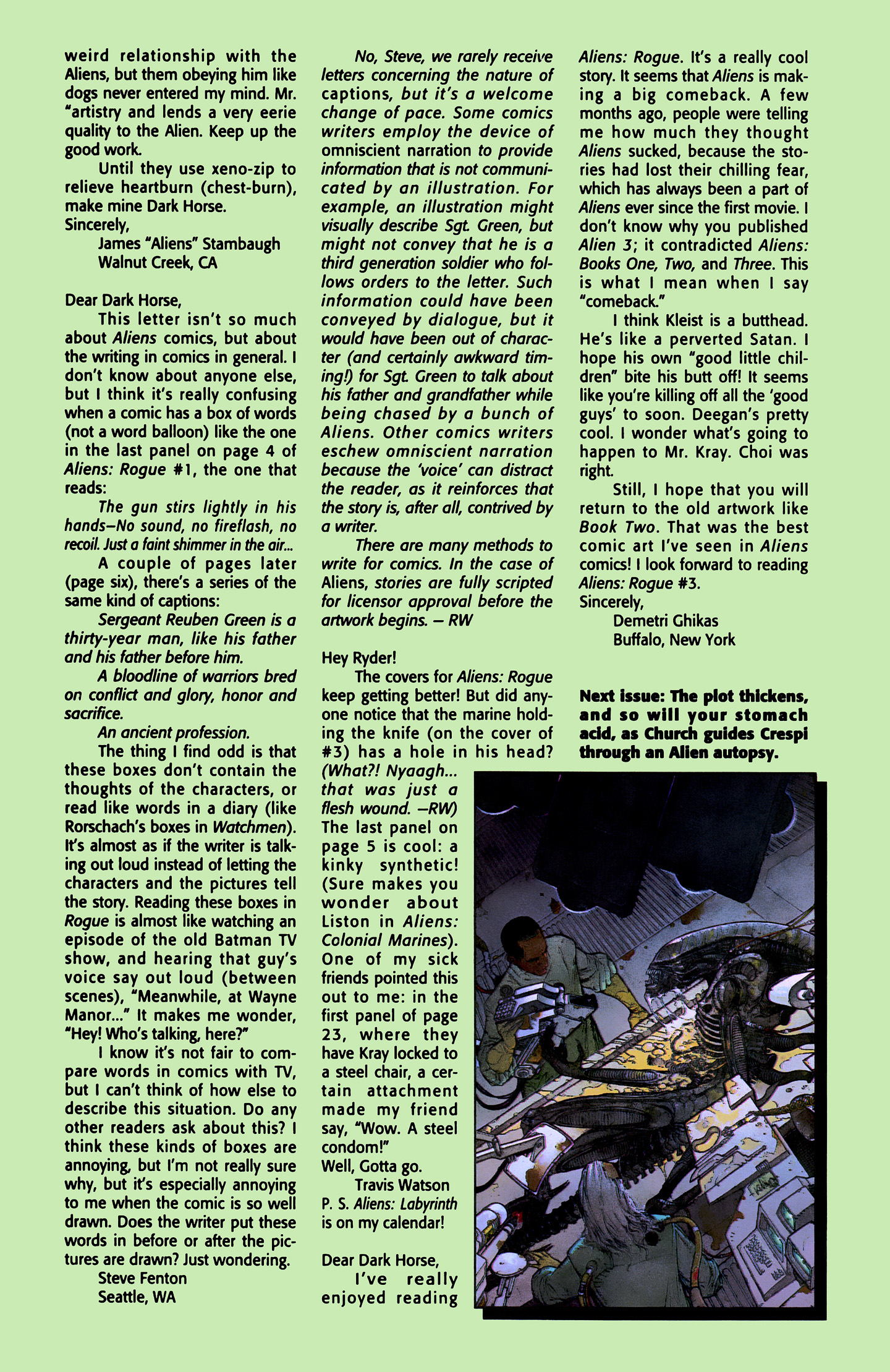 Read online Aliens: Labyrinth comic -  Issue #1 - 28