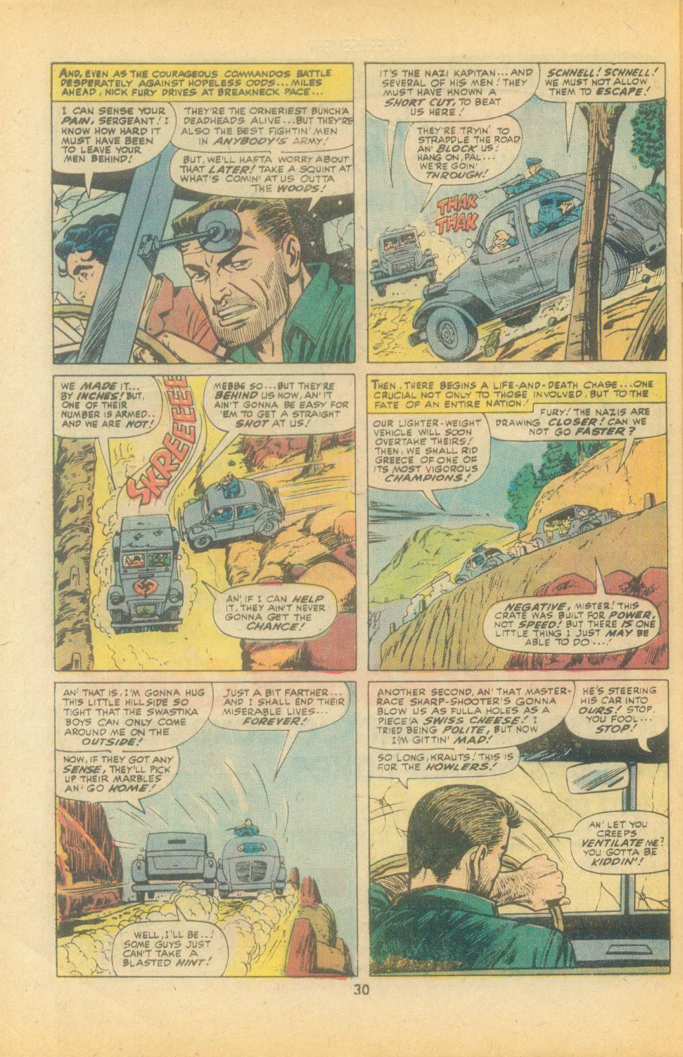 Read online Sgt. Fury comic -  Issue #135 - 32