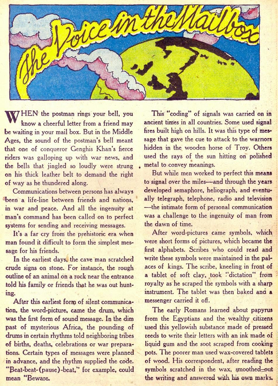 Read online Adventure Comics (1938) comic -  Issue #172 - 31