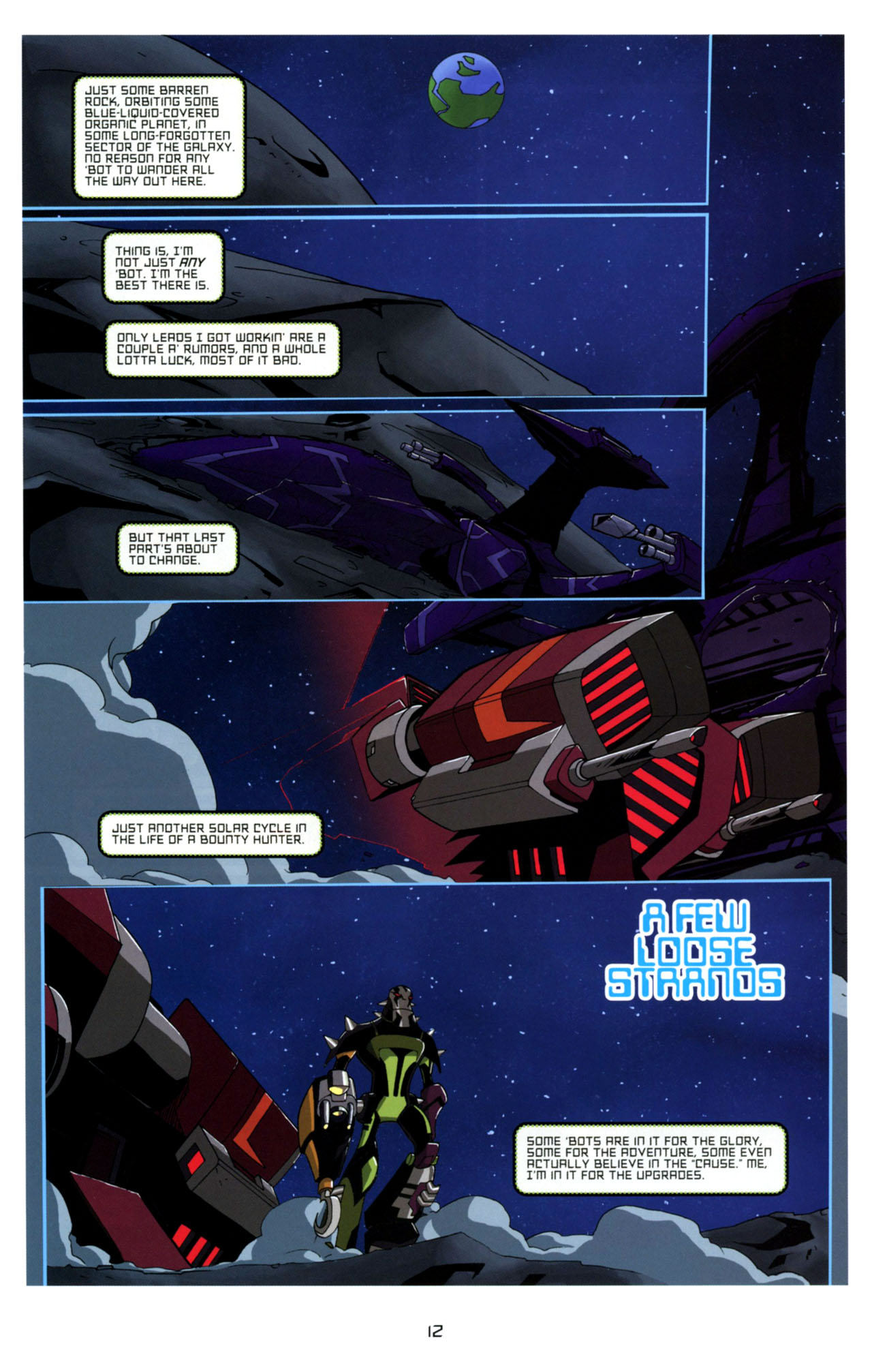 Read online Transformers Animated: The Arrival comic -  Issue #4 - 15