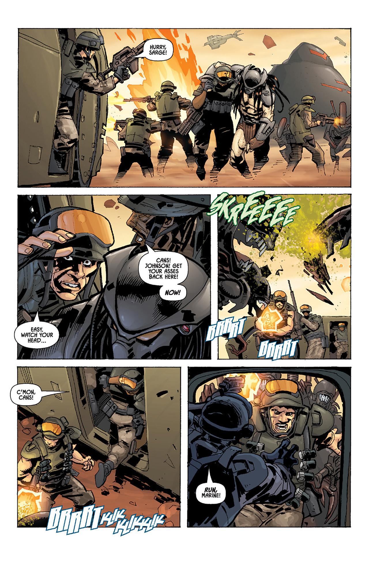 Read online Aliens vs. Predator: Three World War comic -  Issue #4 - 12