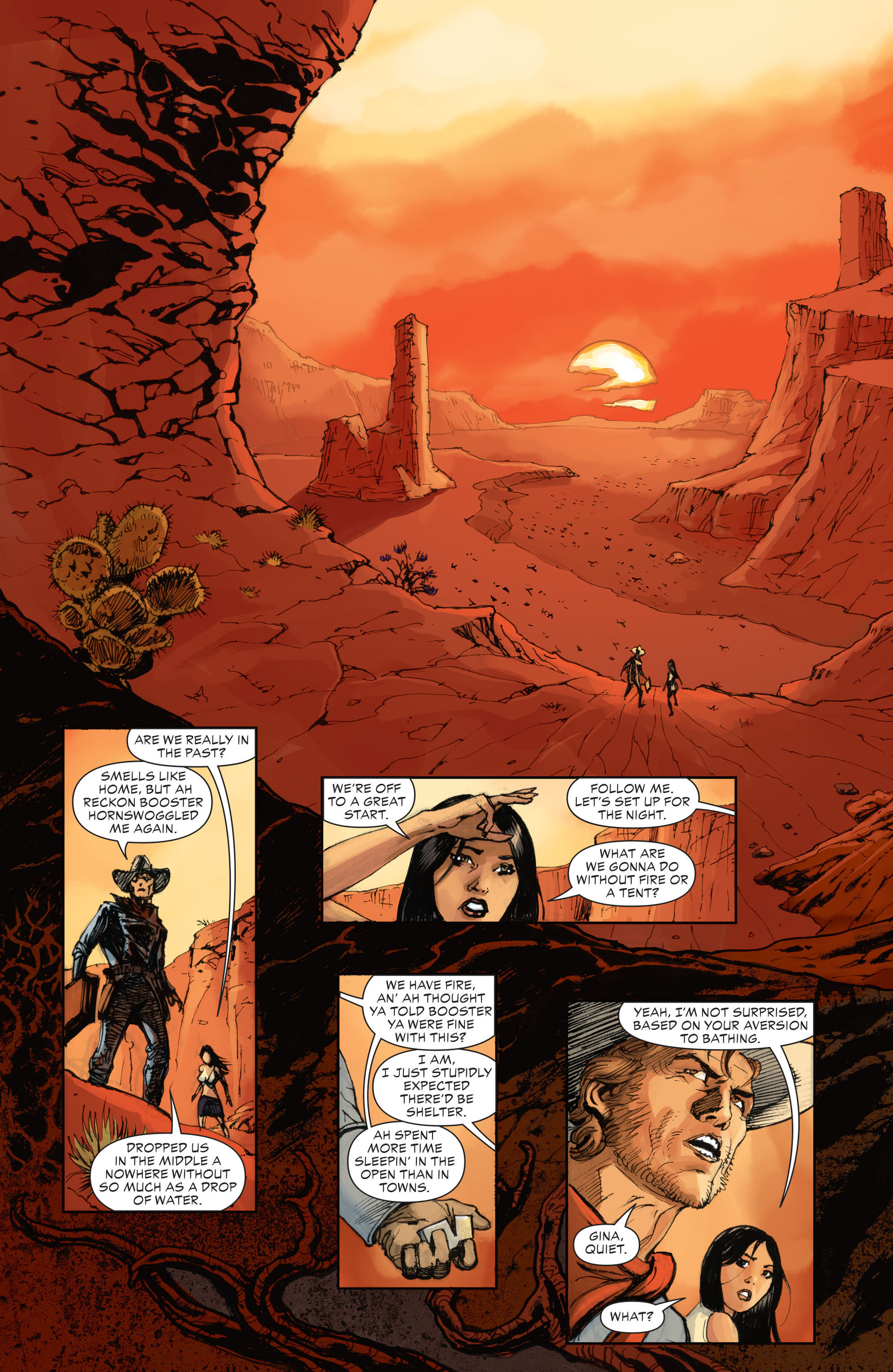Read online All-Star Western (2011) comic -  Issue #28 - 19