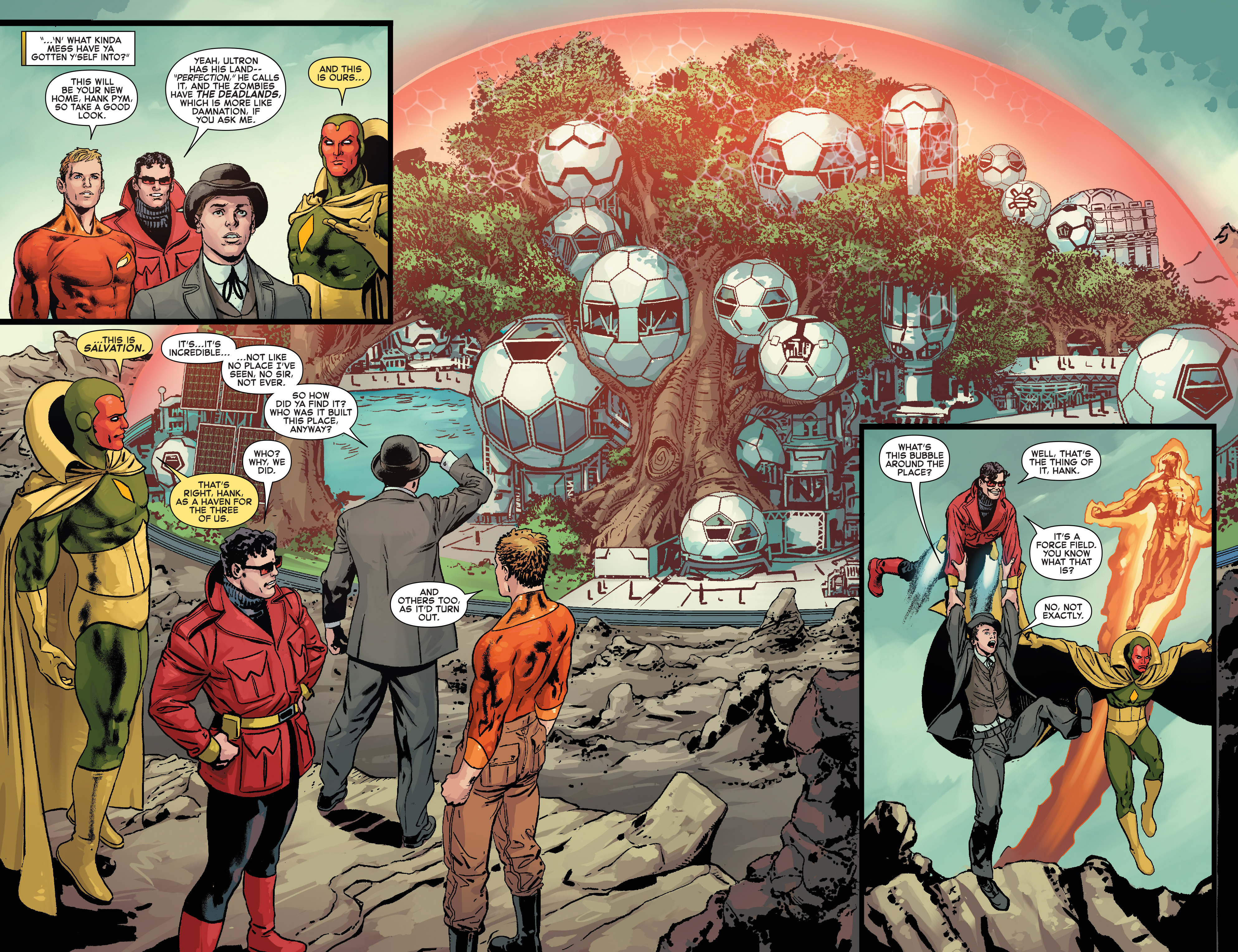 Read online Age of Ultron Vs. Marvel Zombies comic -  Issue #2 - 8