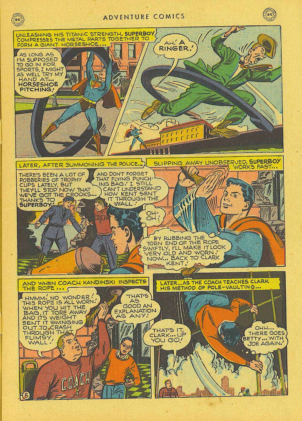 Read online Adventure Comics (1938) comic -  Issue #131 - 6