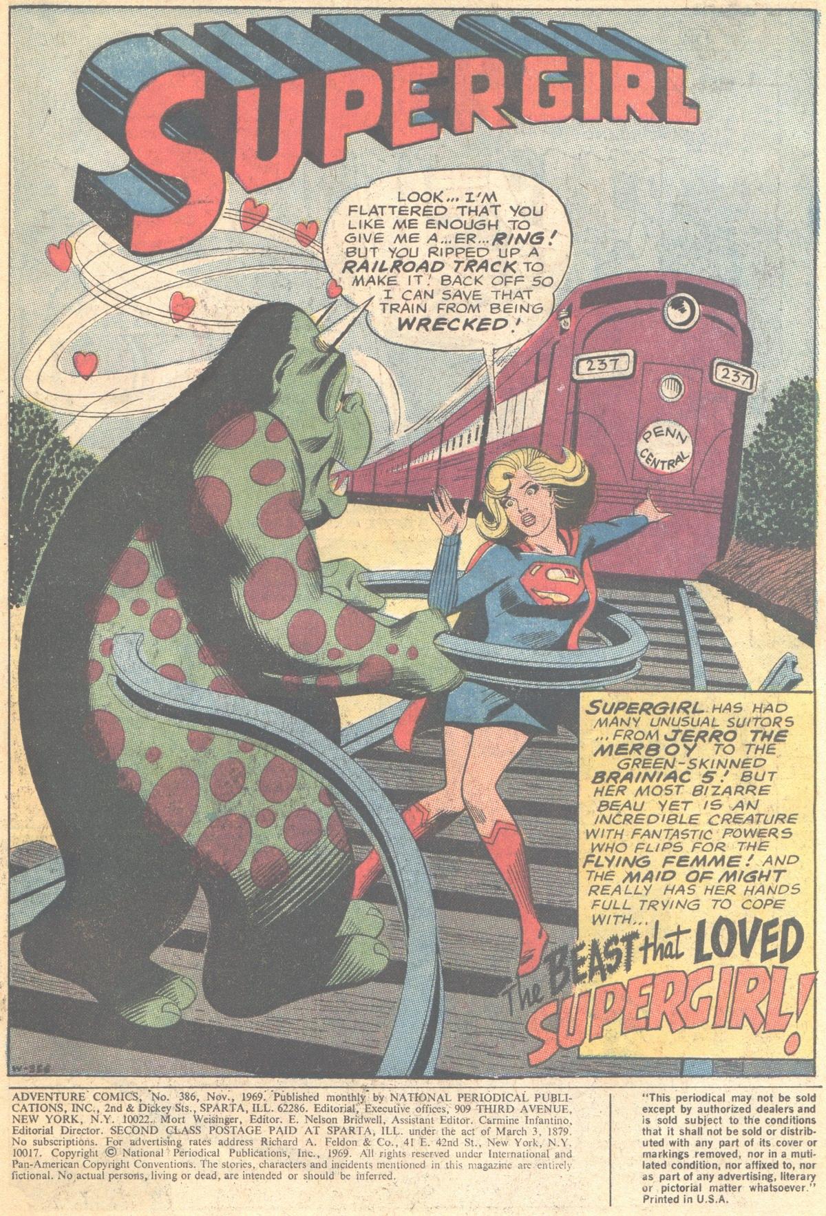 Read online Adventure Comics (1938) comic -  Issue #386 - 3