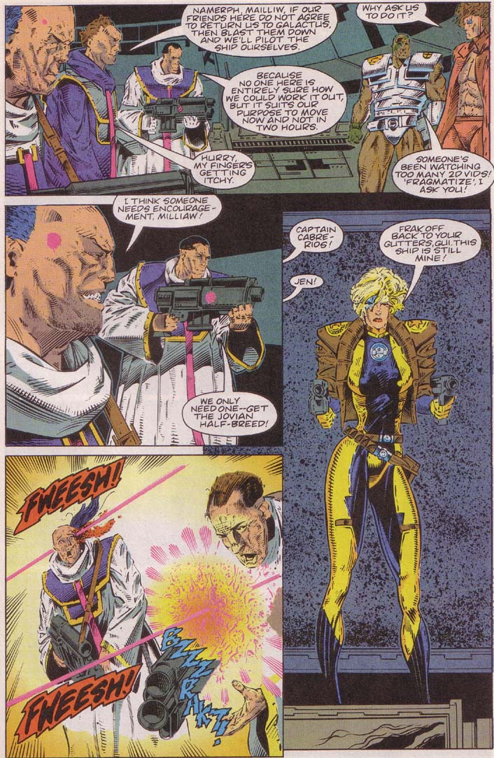 Read online Cyberspace 3000 comic -  Issue #3 - 19
