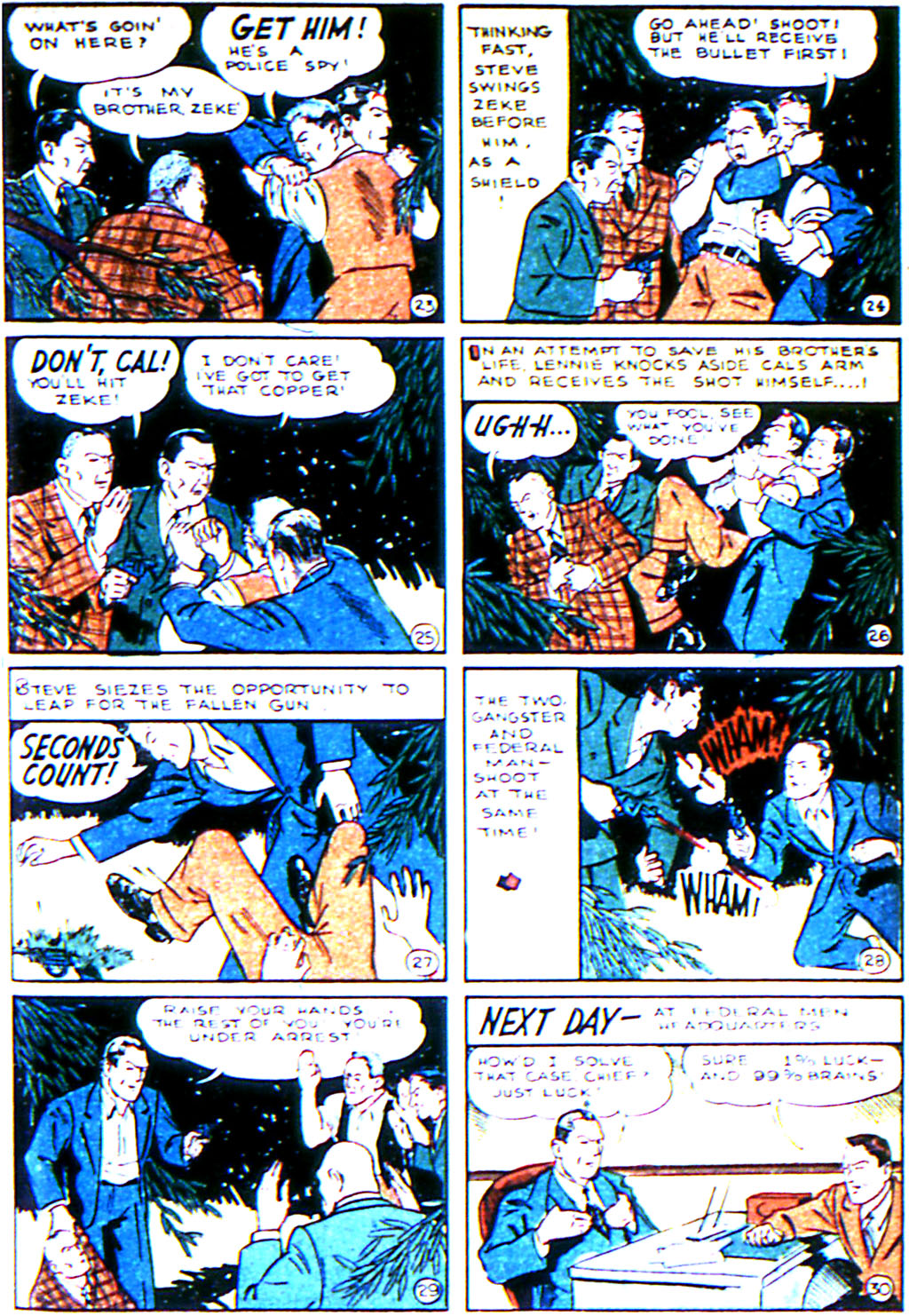 Read online Adventure Comics (1938) comic -  Issue #42 - 19