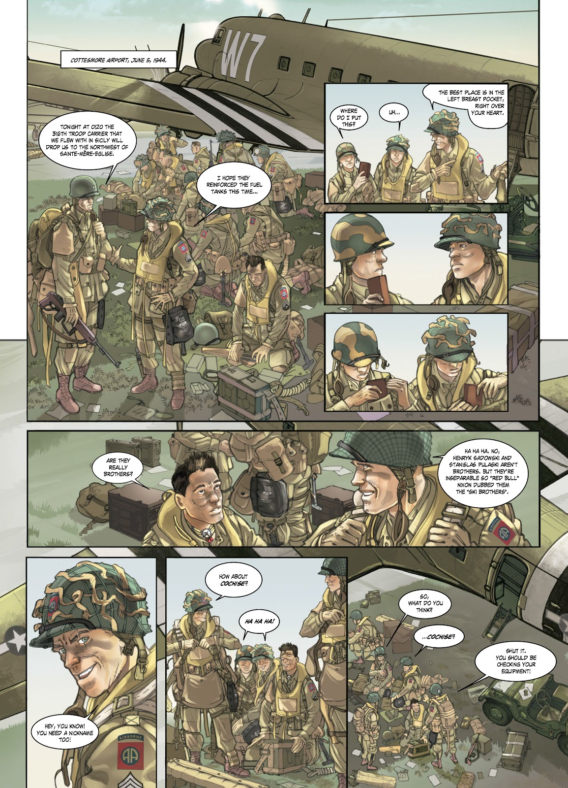 Read online Opération Overlord comic -  Issue #1 - 9