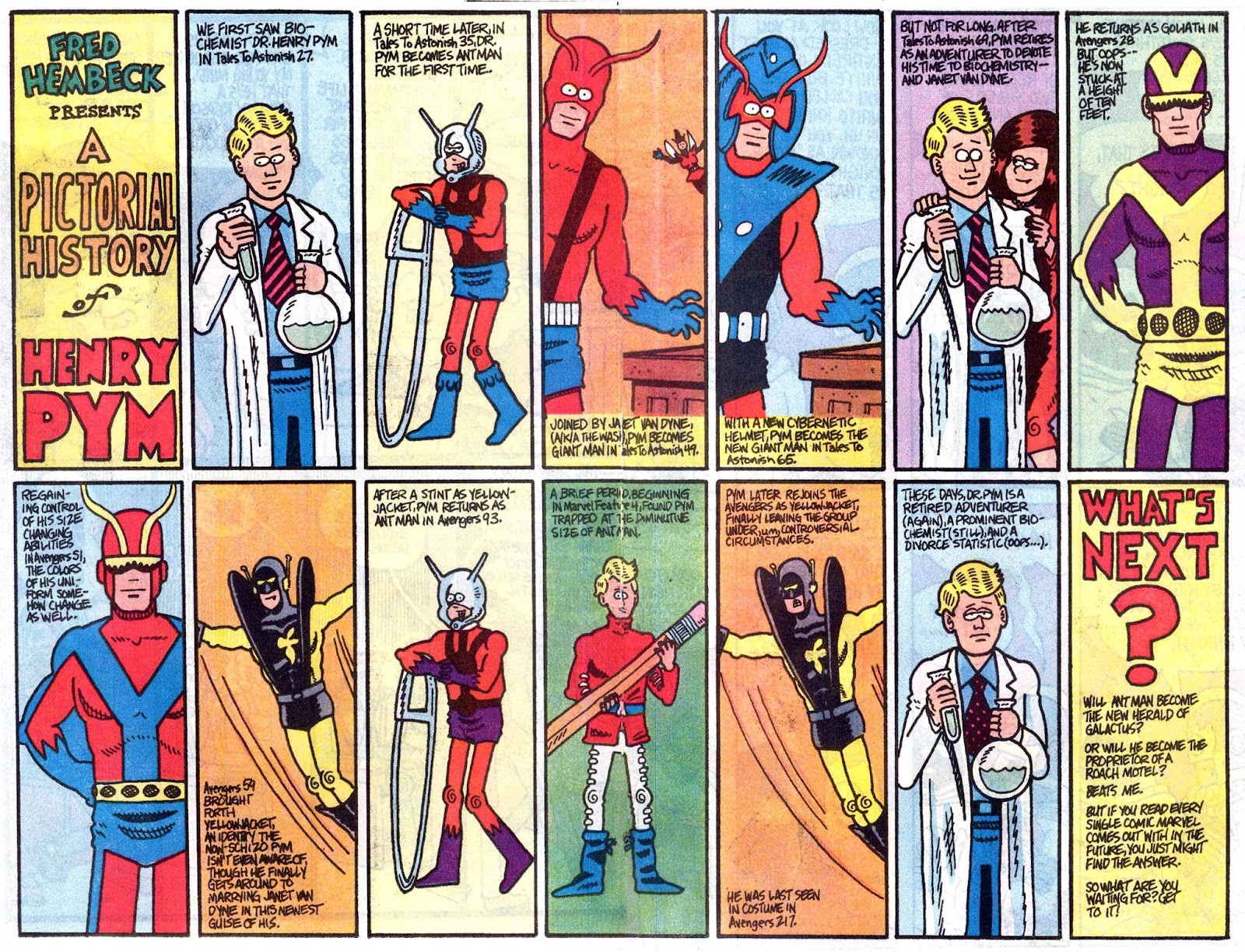 Fred Hembeck Sells the Marvel Universe issue Full - Page 15