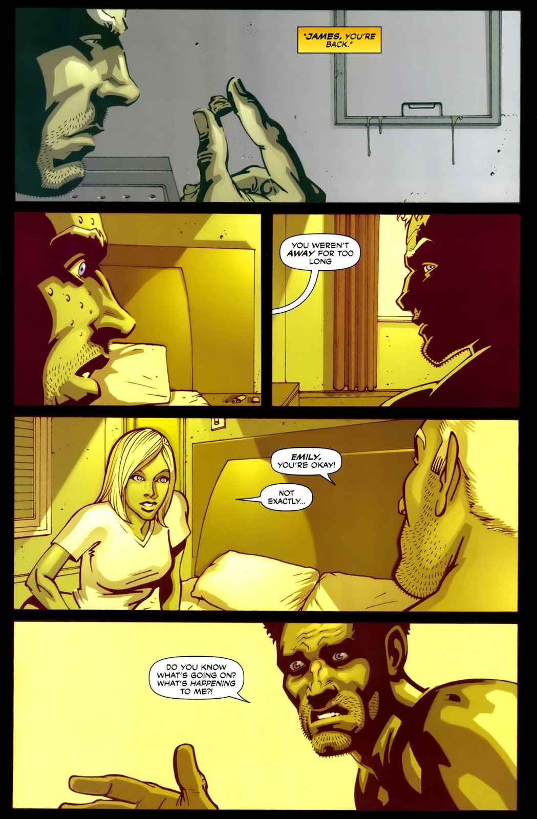 Read online Lazarus (2007) comic -  Issue #2 - 3