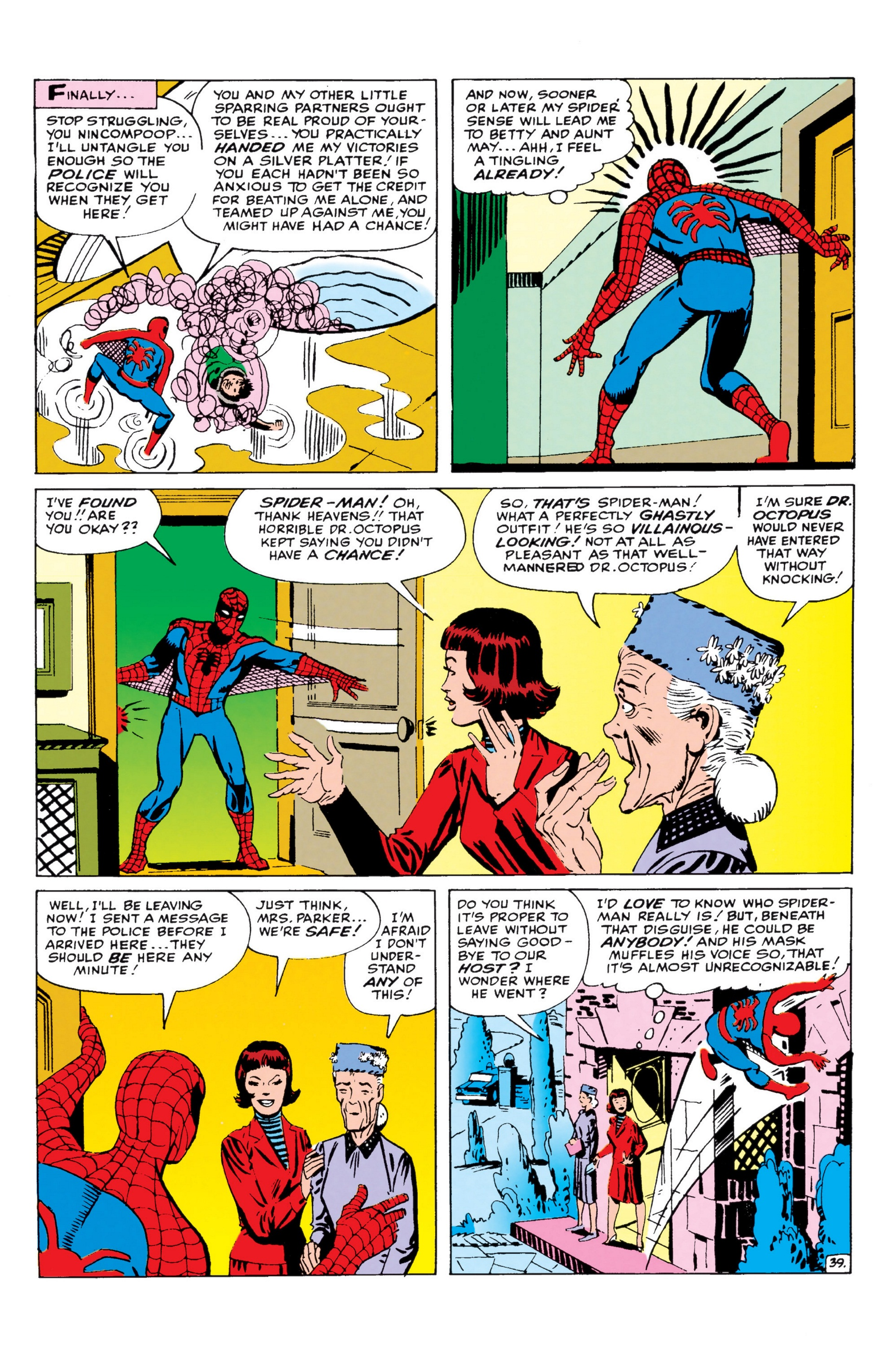 The Amazing Spider-Man (1963) _Annual_1 Page 39