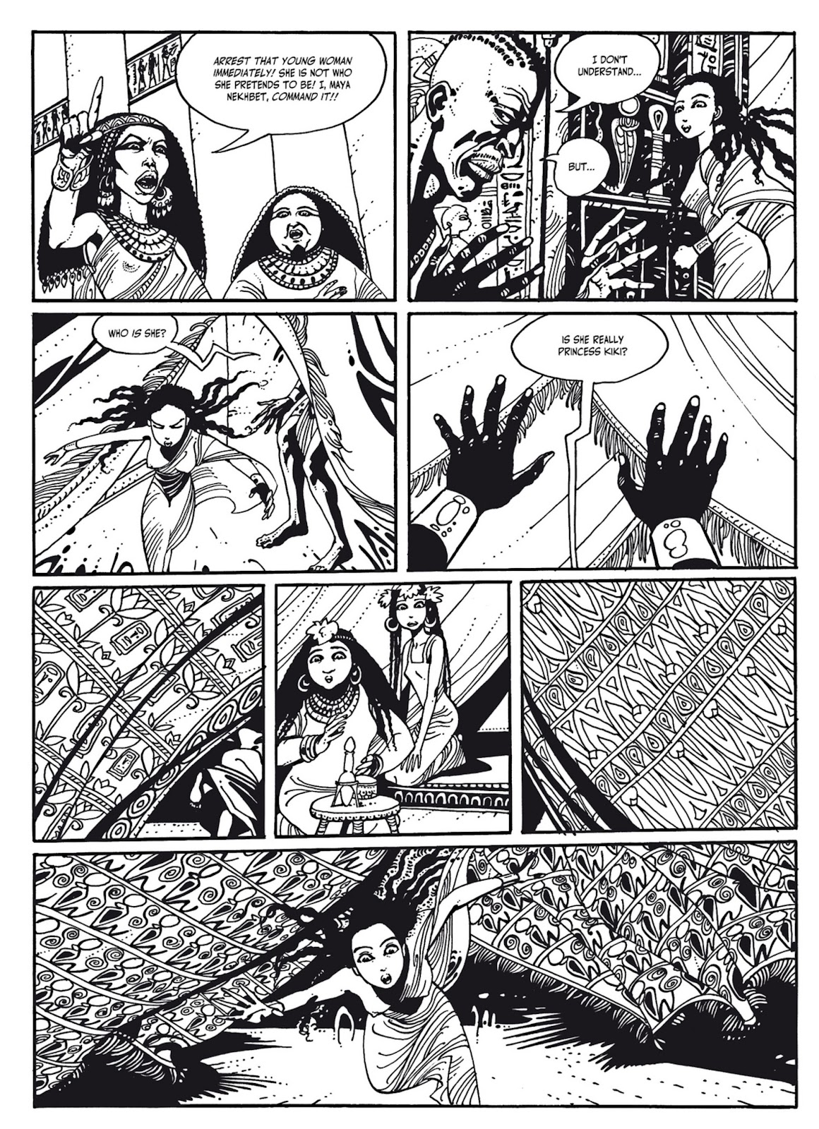 Read online The Egyptian Princesses comic -  Issue # TPB 1 (Part 3) - 40