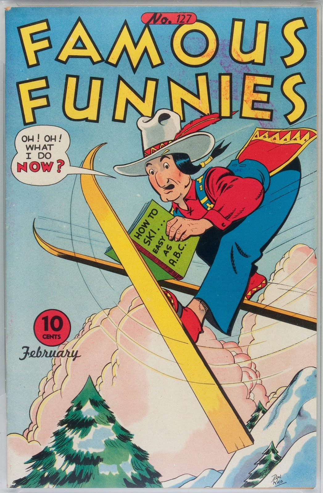 Read online Famous Funnies comic -  Issue #127 - 1