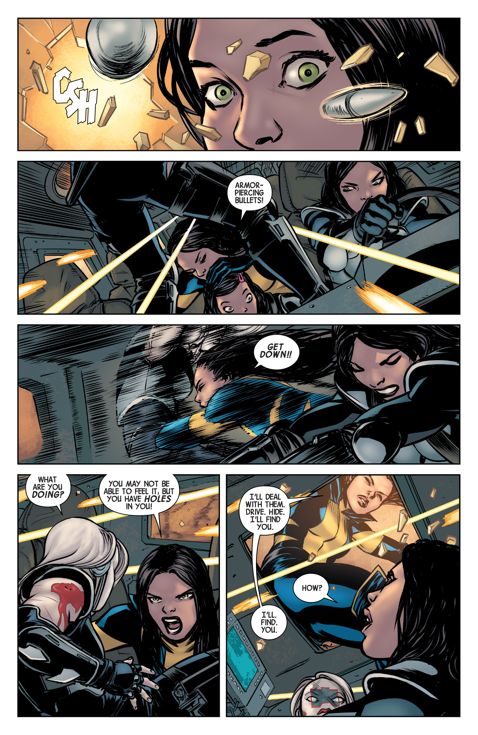 Read online All-New Wolverine (2016) comic -  Issue #3 - 14