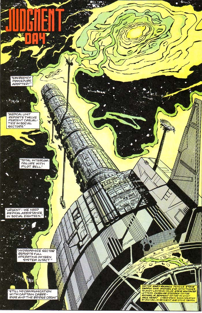 Read online Cyberspace 3000 comic -  Issue #1 - 5