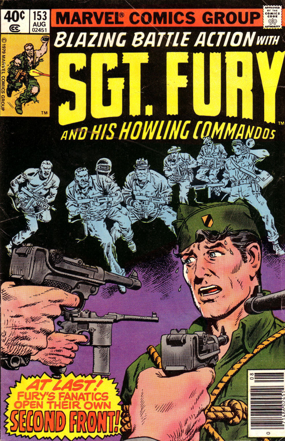 Read online Sgt. Fury comic -  Issue #153 - 1