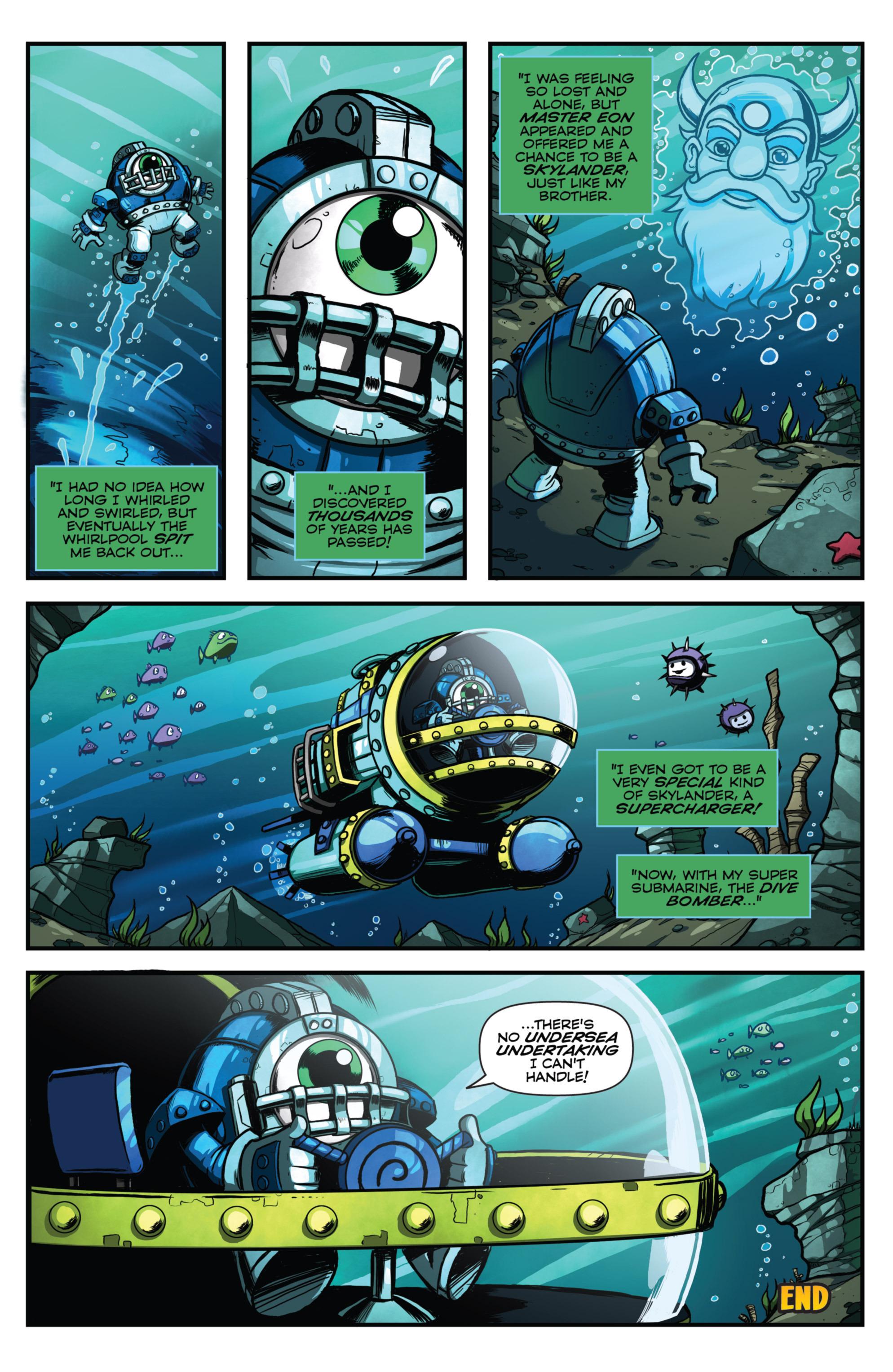 Read online Skylanders Superchargers comic -  Issue #4 - 23