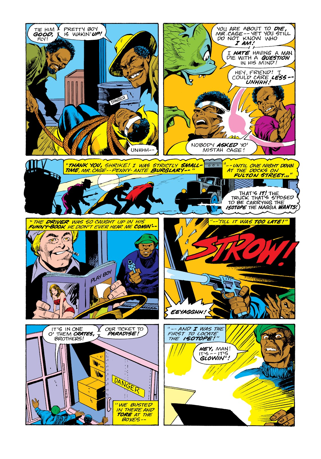 Read online Marvel Masterworks: Luke Cage, Power Man comic -  Issue # TPB 2 (Part 3) - 50