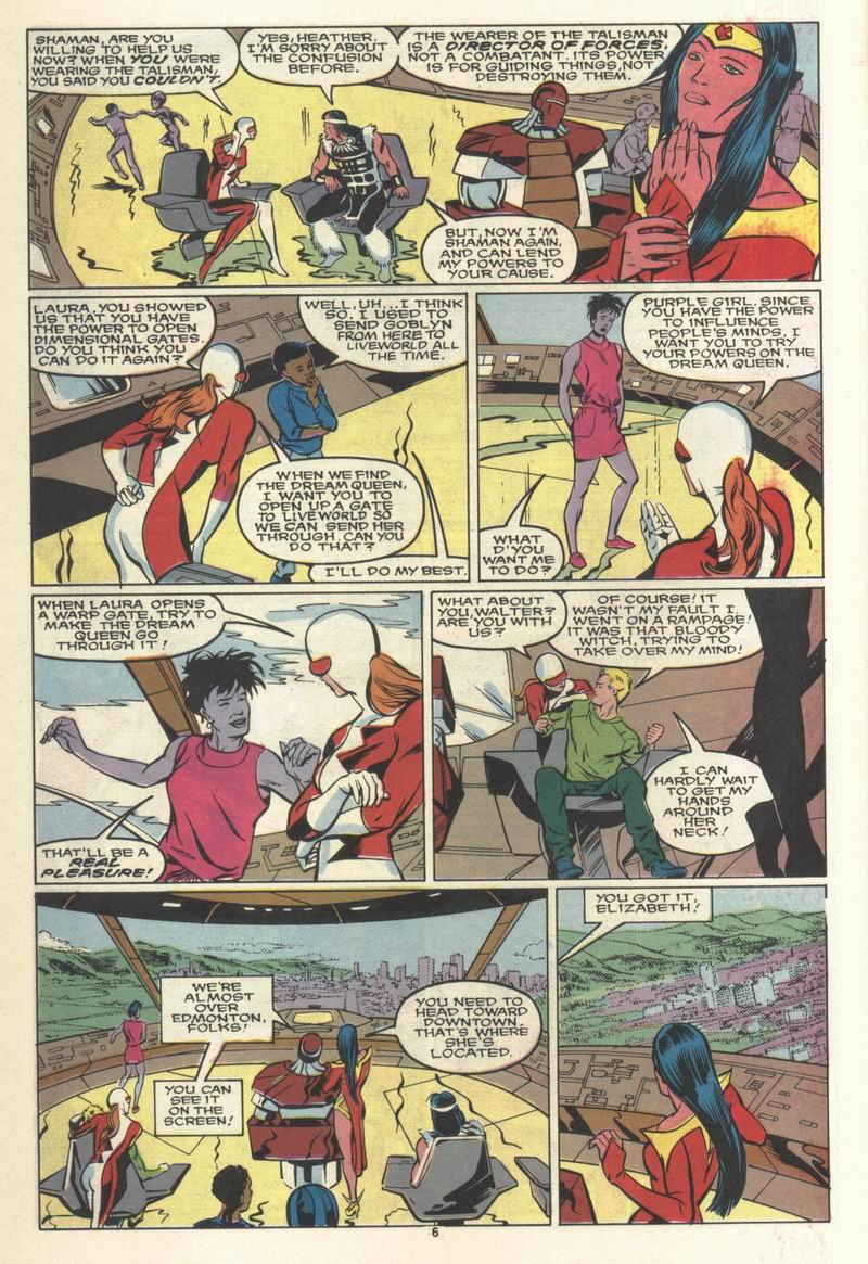 Read online Alpha Flight (1983) comic -  Issue #69 - 8