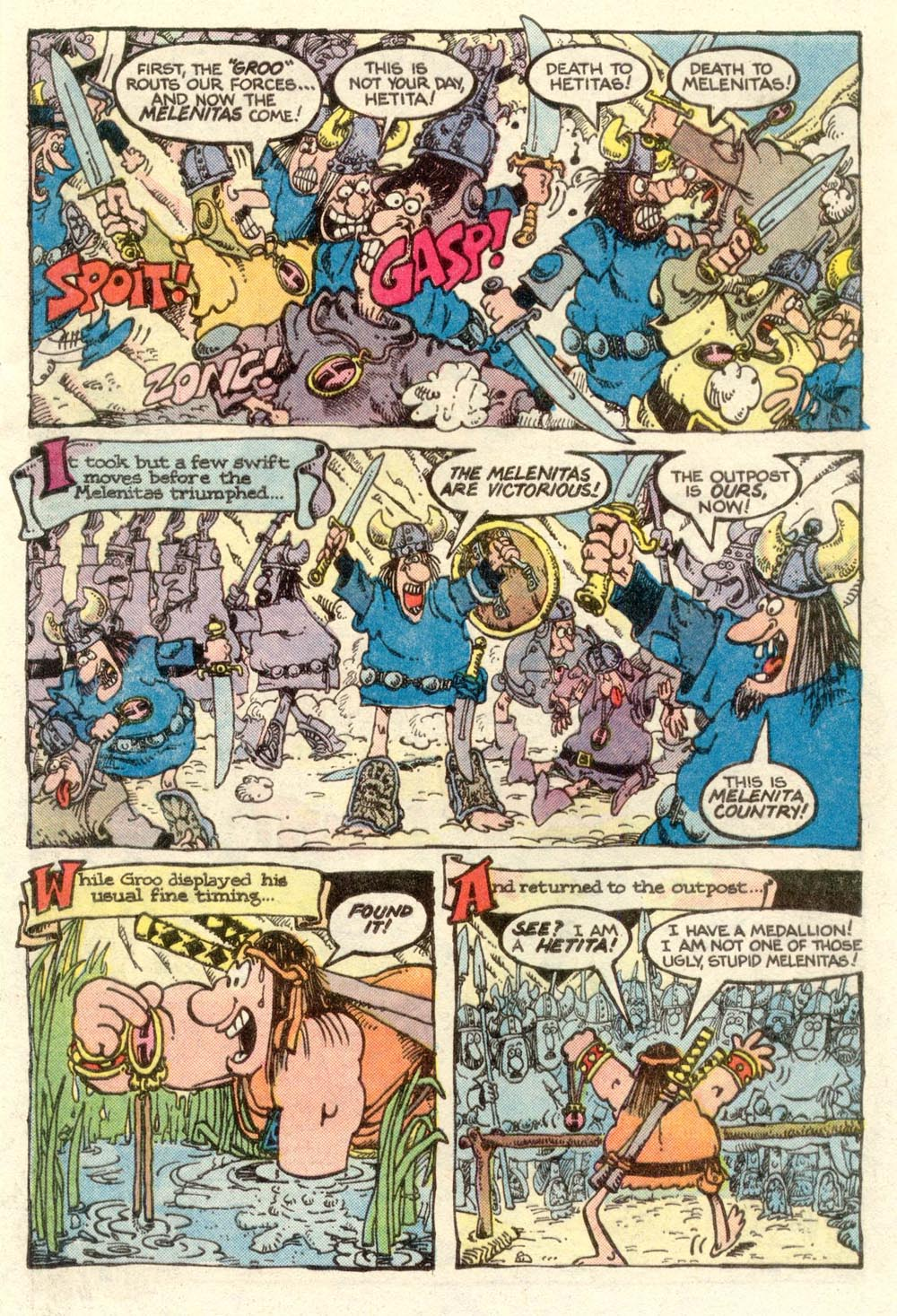 Read online Sergio Aragonés Groo the Wanderer comic -  Issue #3 - 11