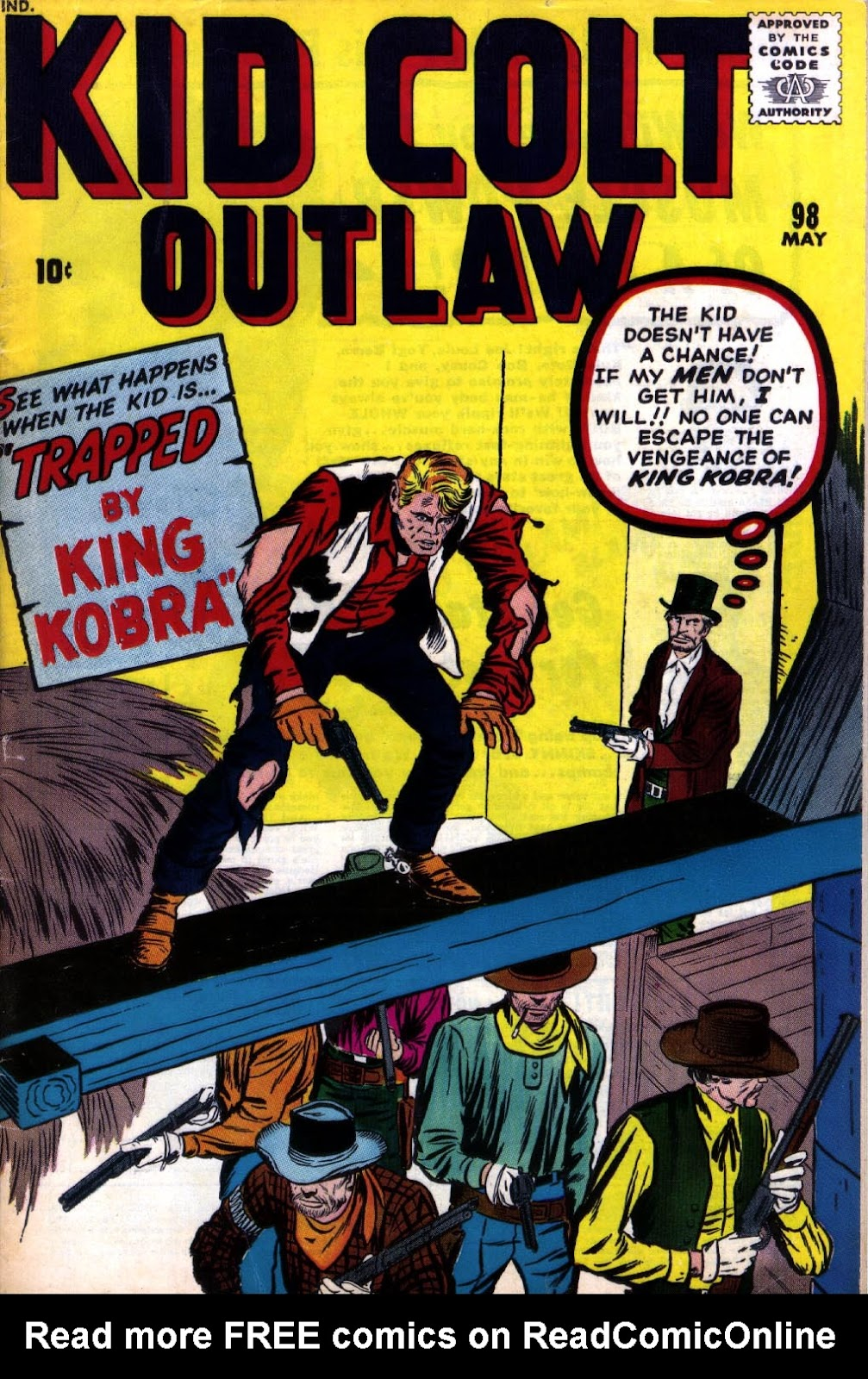 Kid Colt Outlaw issue 98 - Page 1
